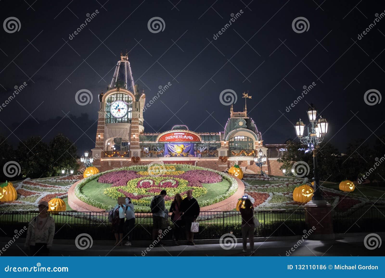 Shanghai Kina Disneyland ingång