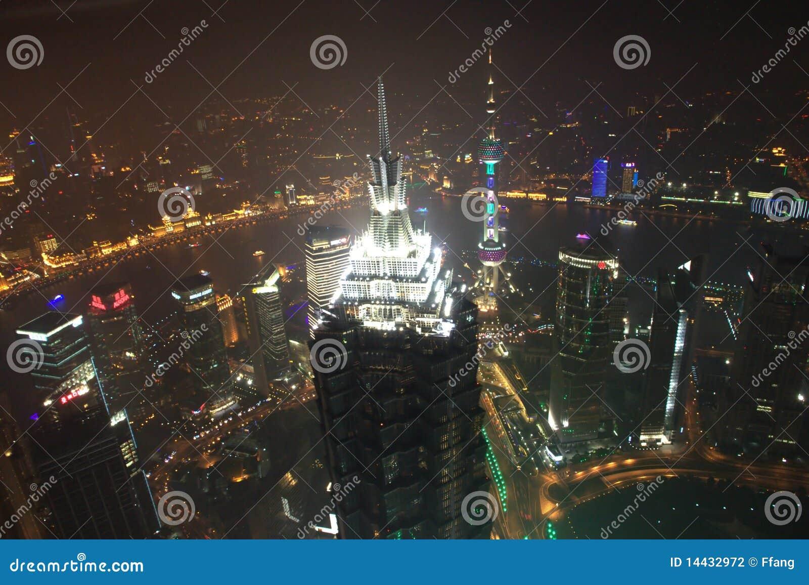 Shanghai-Nachtansicht
