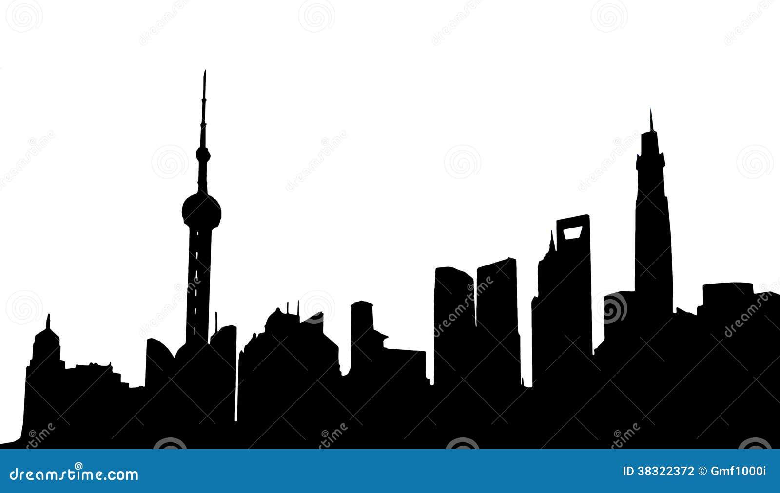 Shanghai Skyline Stock Photography - Image: 38322372