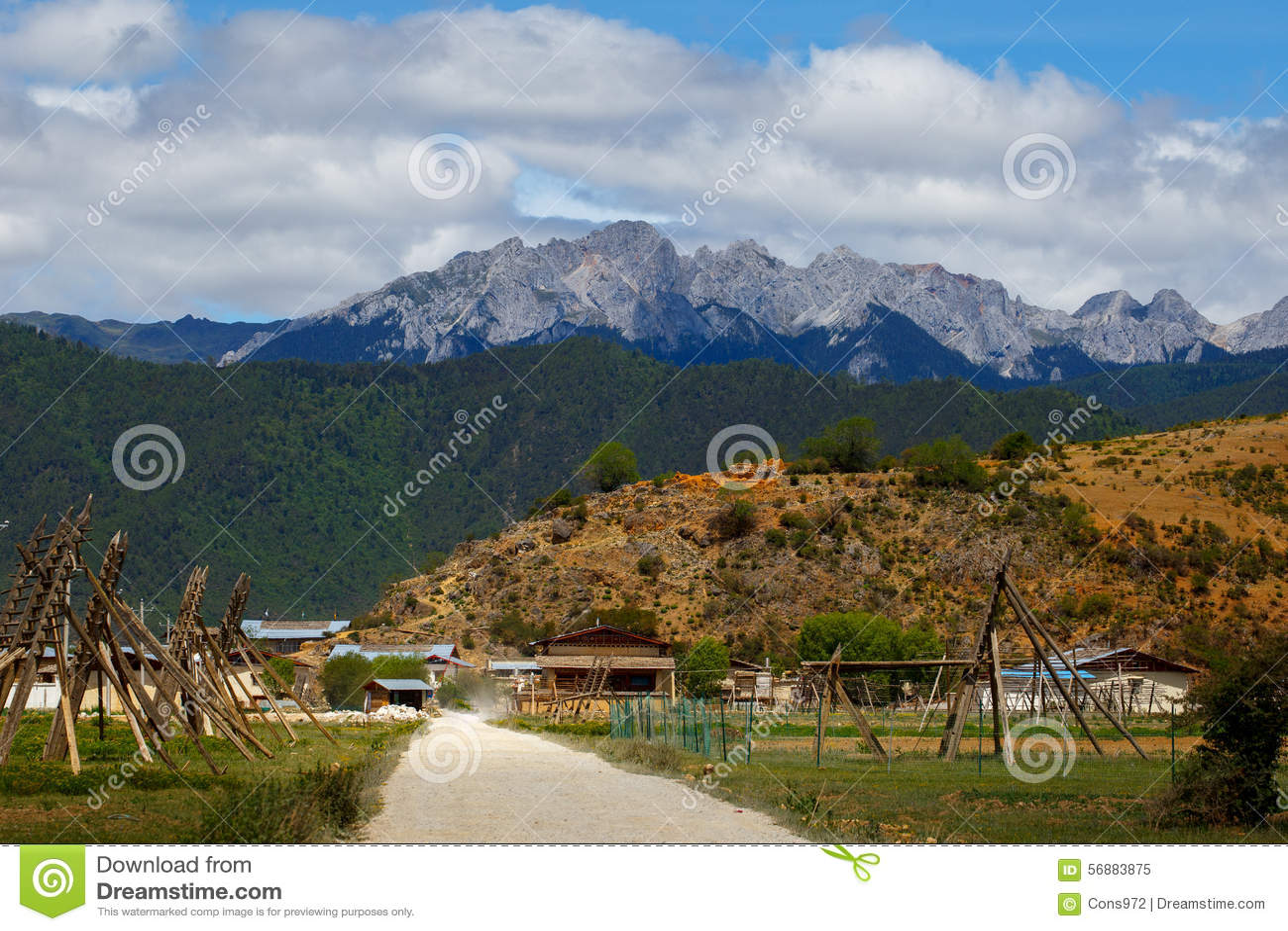 Shangrila, il Yunnan, la Cina ed il posto vicino