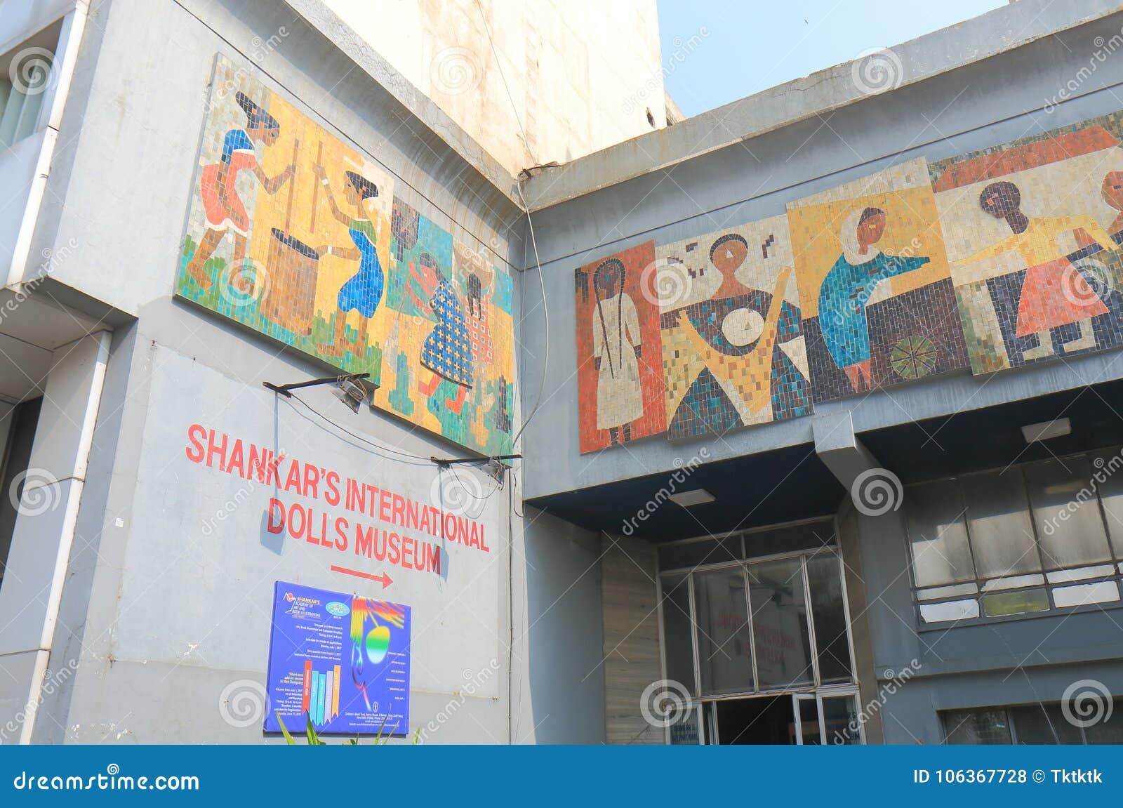 Shankars International Dolls Museum New Delhi India Editorial Stock