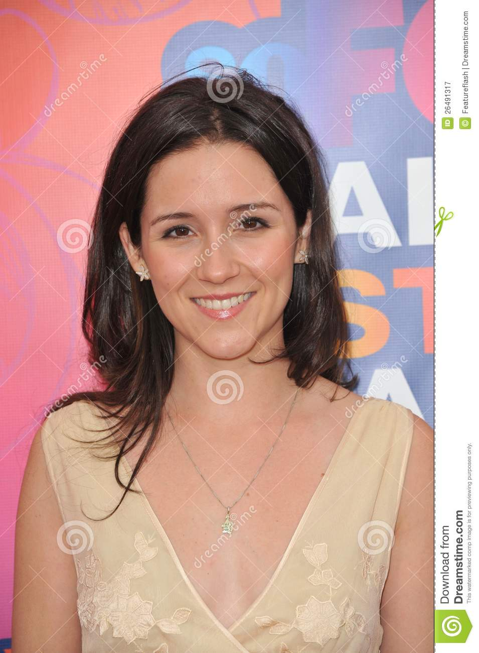 "Shannon Woodward - star of ""Raising Hope"" - at Fox TV's All Star Party ..."