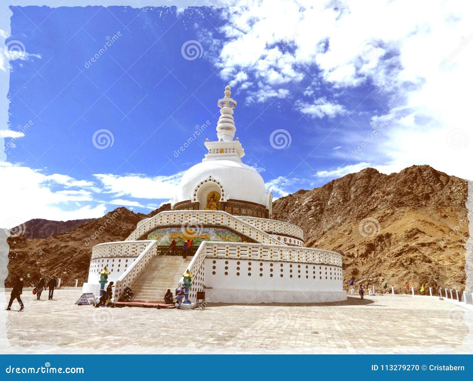 Shanti leh Stupa