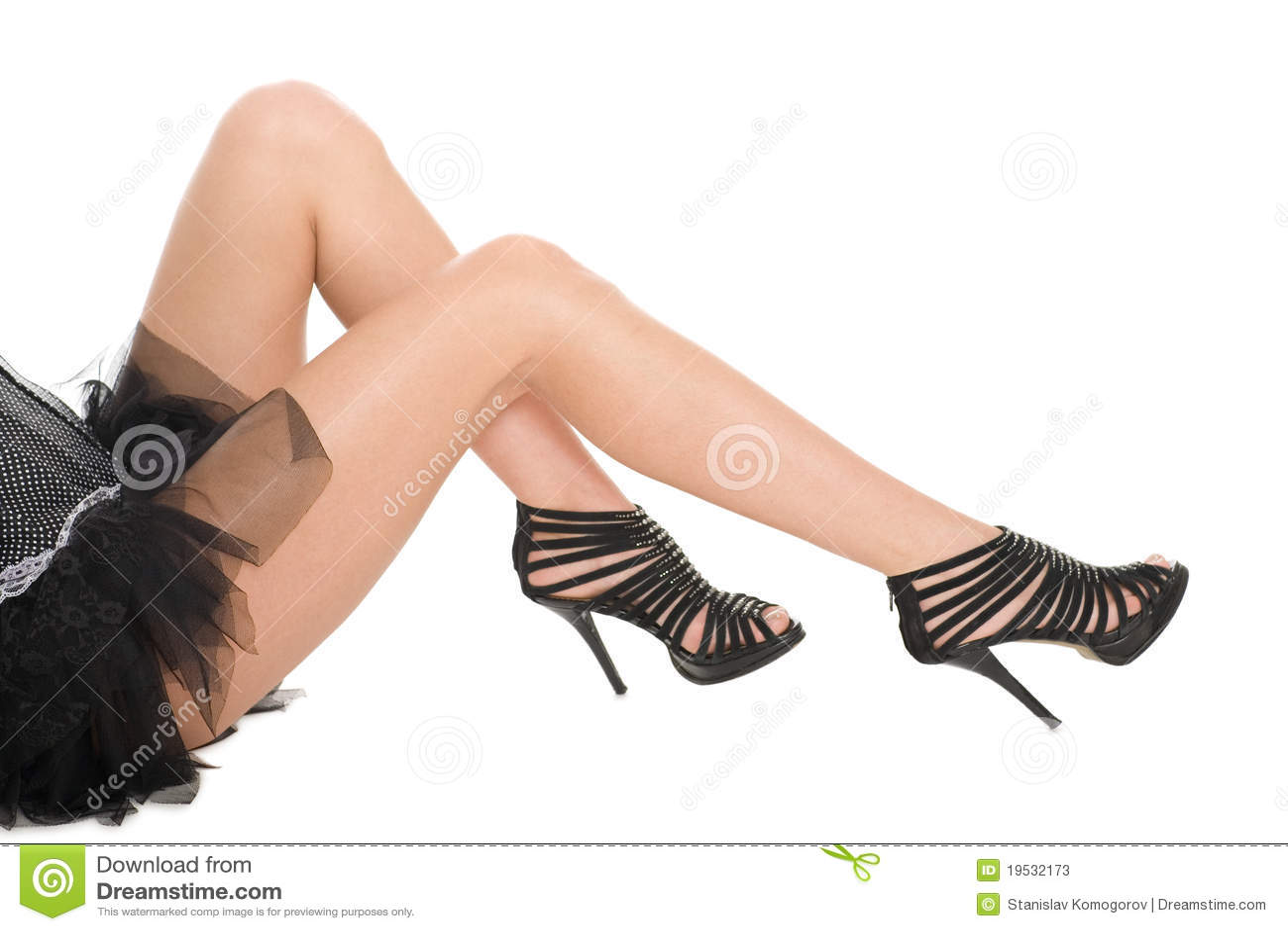 8d07da83840d49 Shapely legs a girl in sandals high heeled stock image jpg 1300x957 Shapely tanned  legs