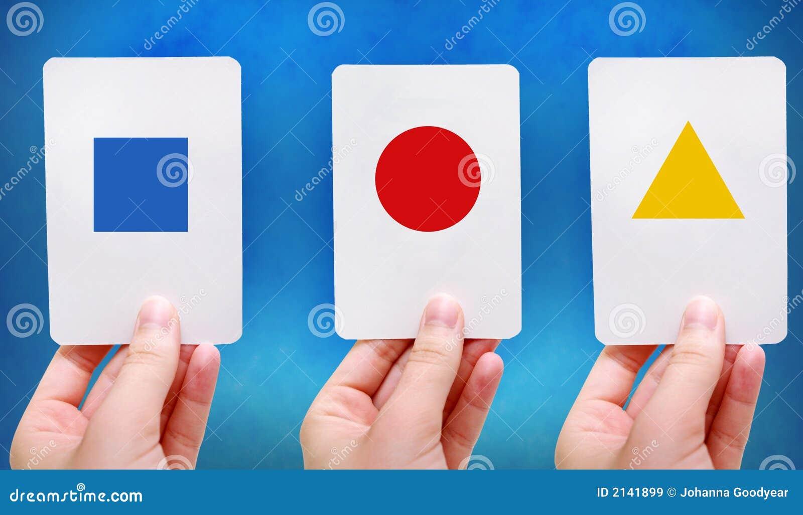 worksheet Shape Flash Cards shapes flash cards royalty free stock images image 2141899 cards