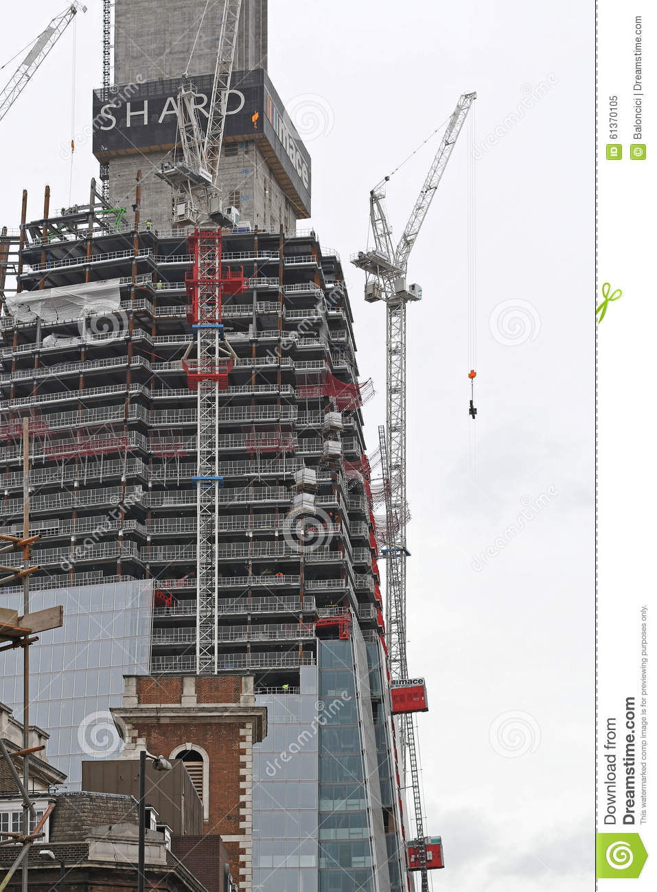 Shard Construction editorial image  Image of mace, shard