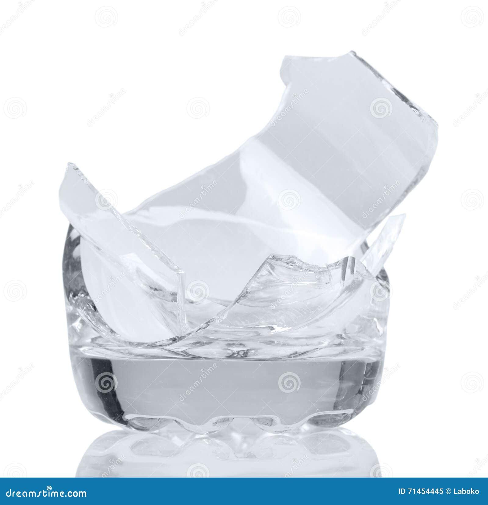 how to fix a broken glass bowl