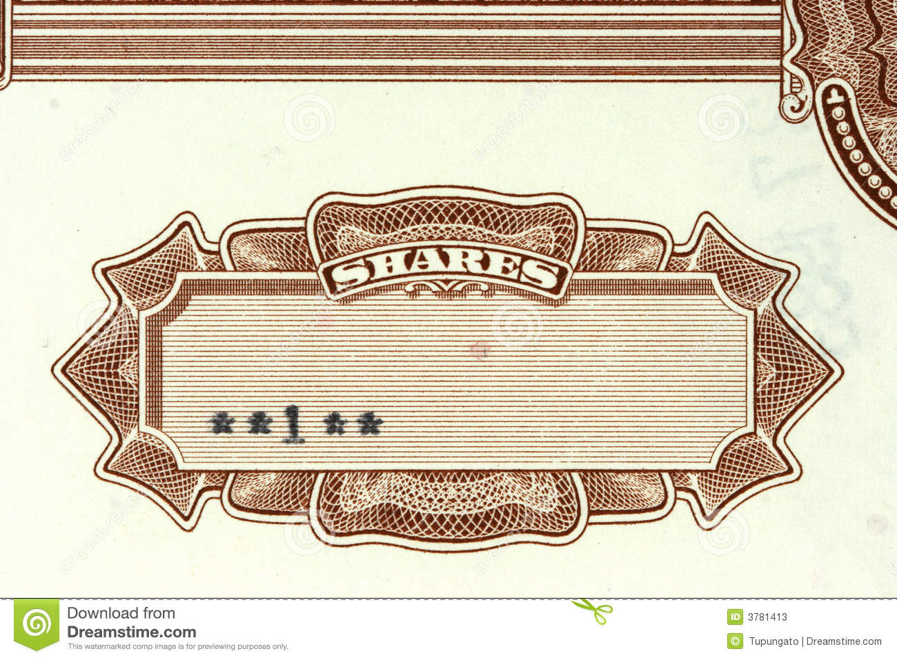 Share certificate stock image image of financial finances 3781413 share certificate 1betcityfo Gallery