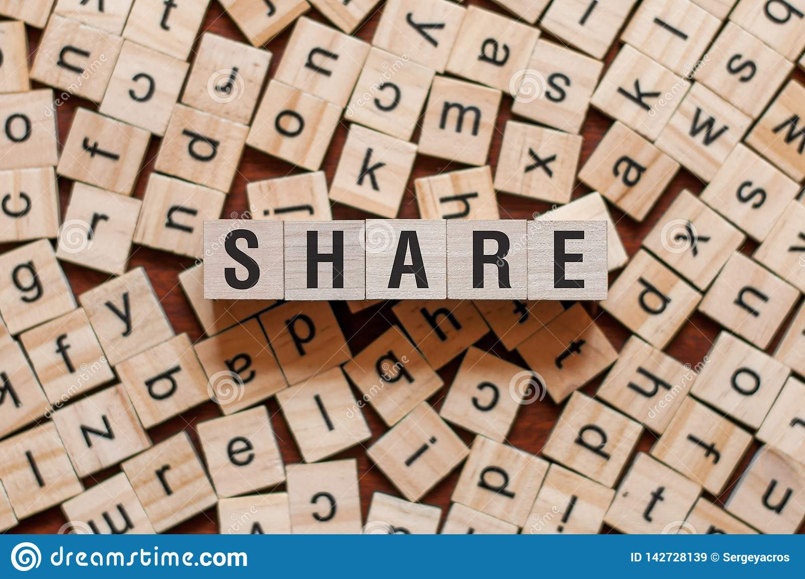 Share word concept