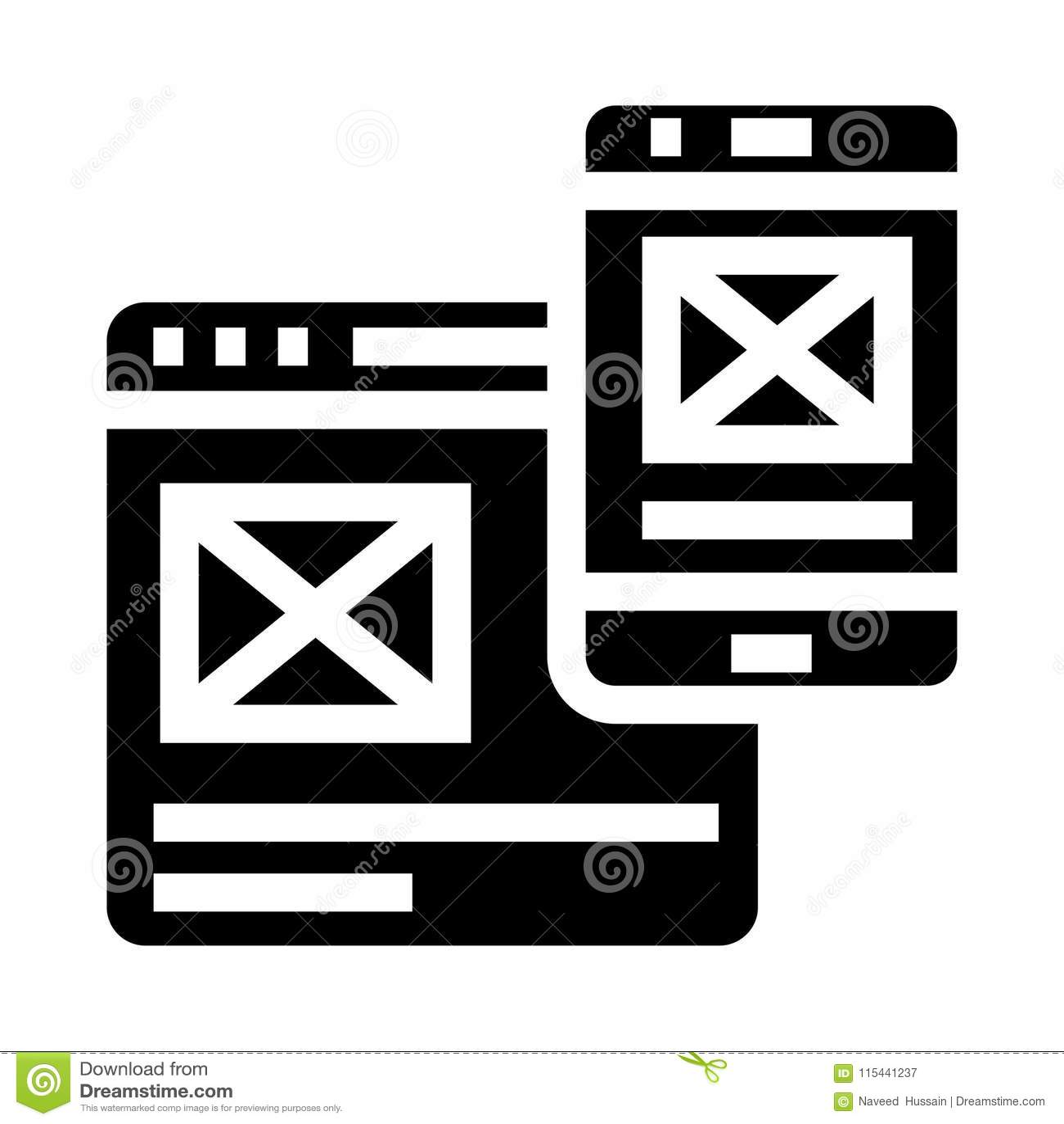 Sharing glyphs icon