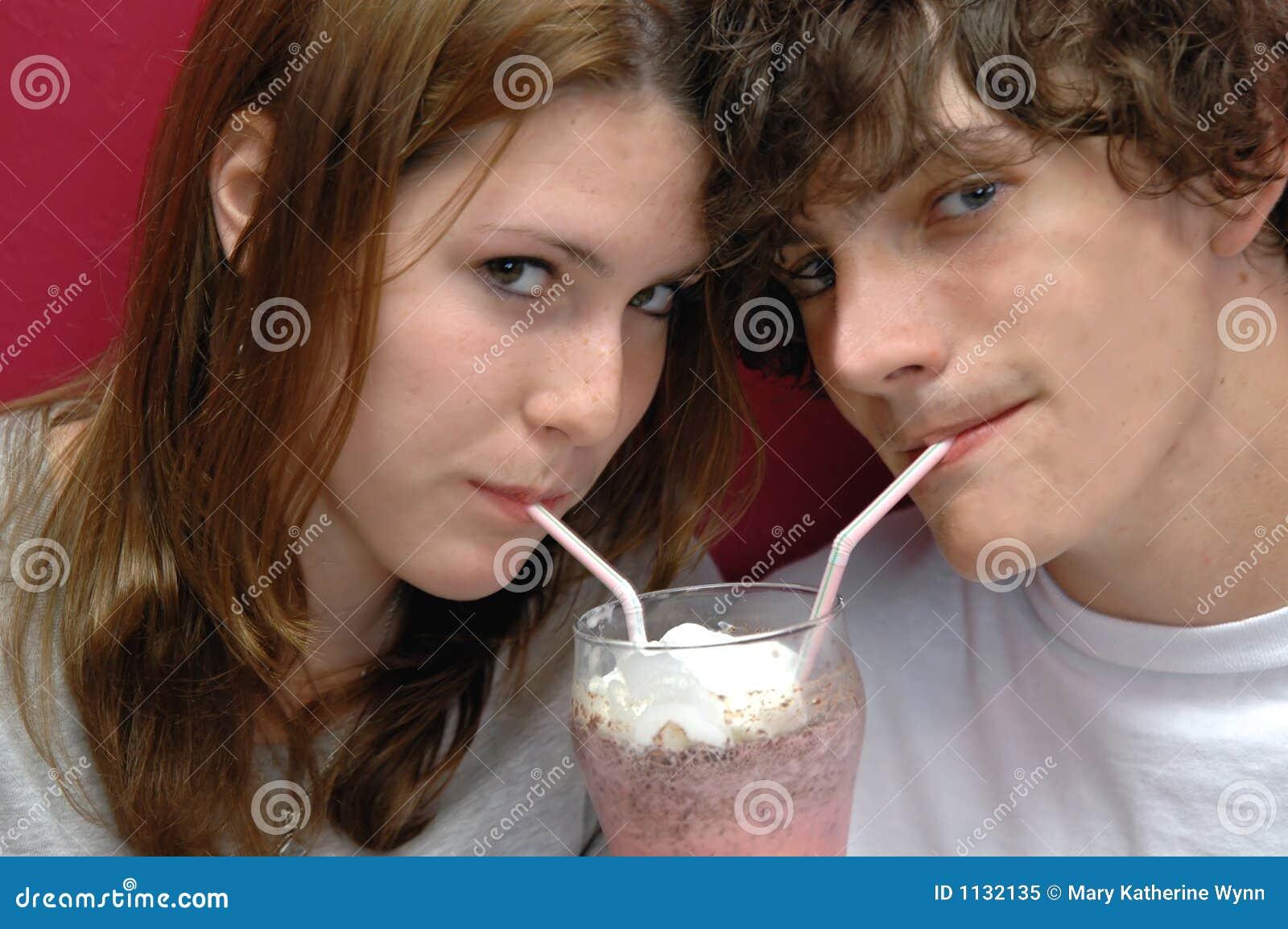 Sharing a sip