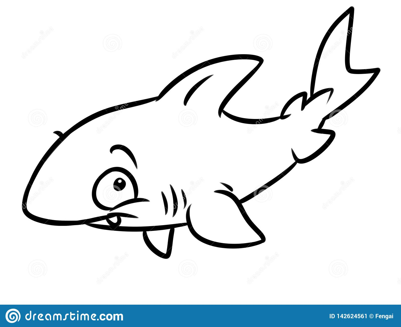 Free Printable Shark Coloring Pages For Kids | Shark coloring ... | 1303x1600