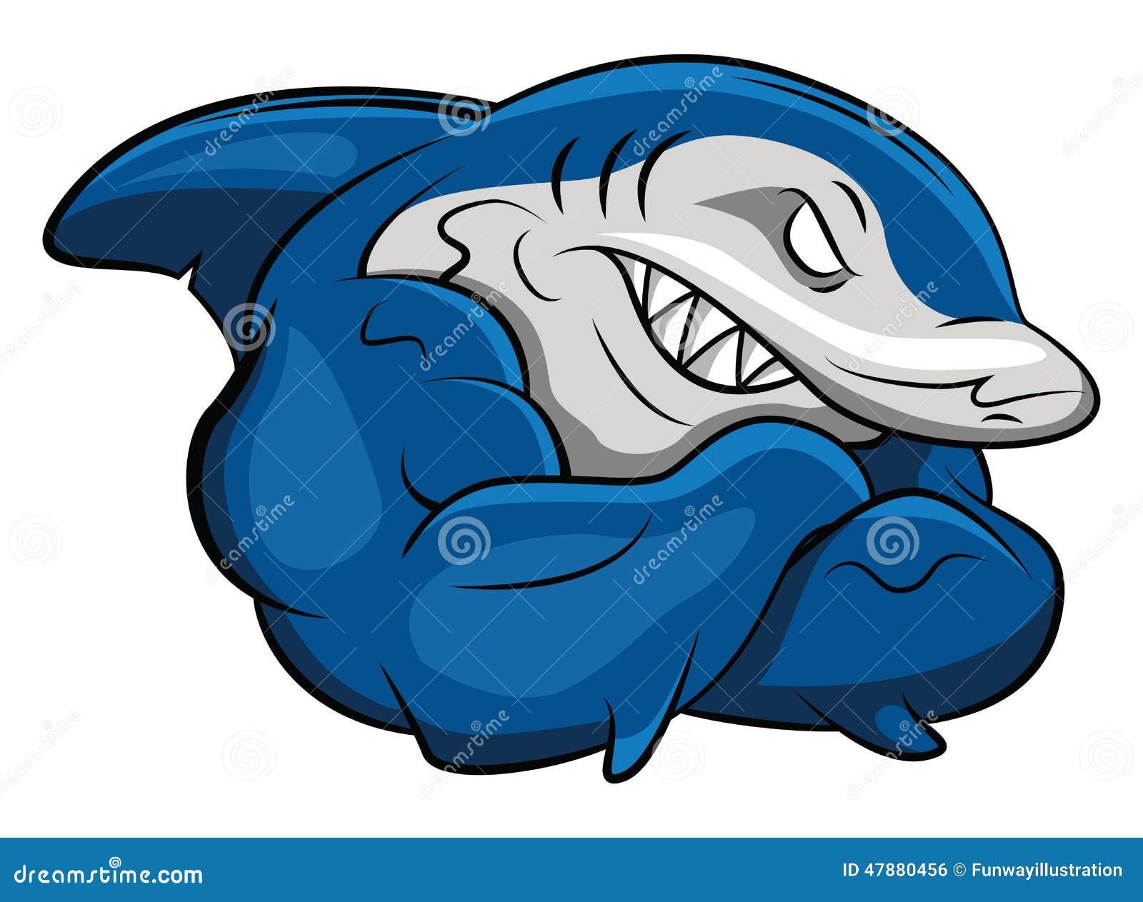 Gym Shark Logo Design