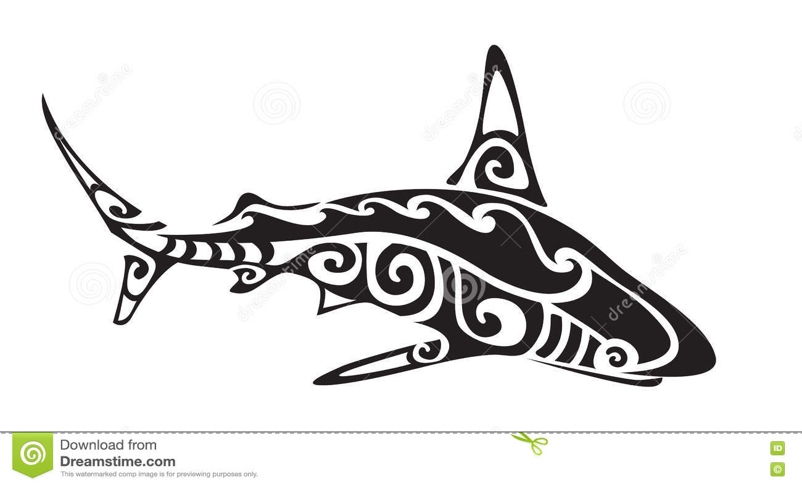 Polynesian decorative designs.
