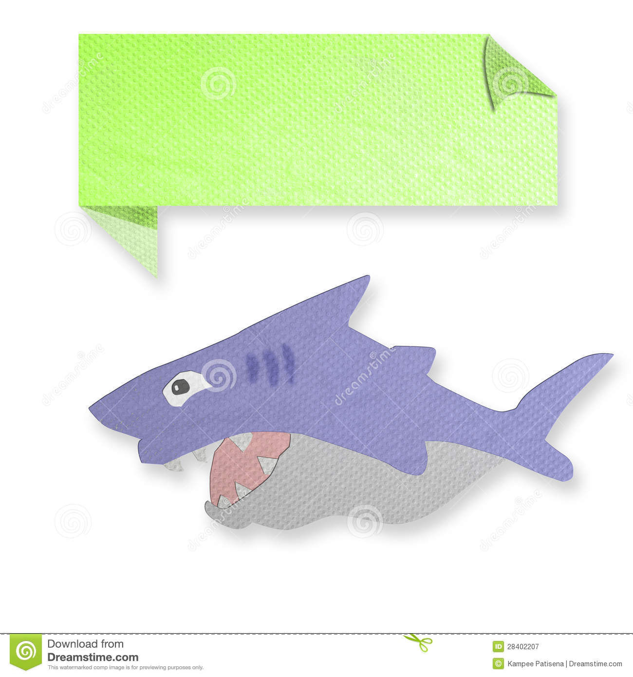 shark paper paper shark print colors stock vector image dreamstime com