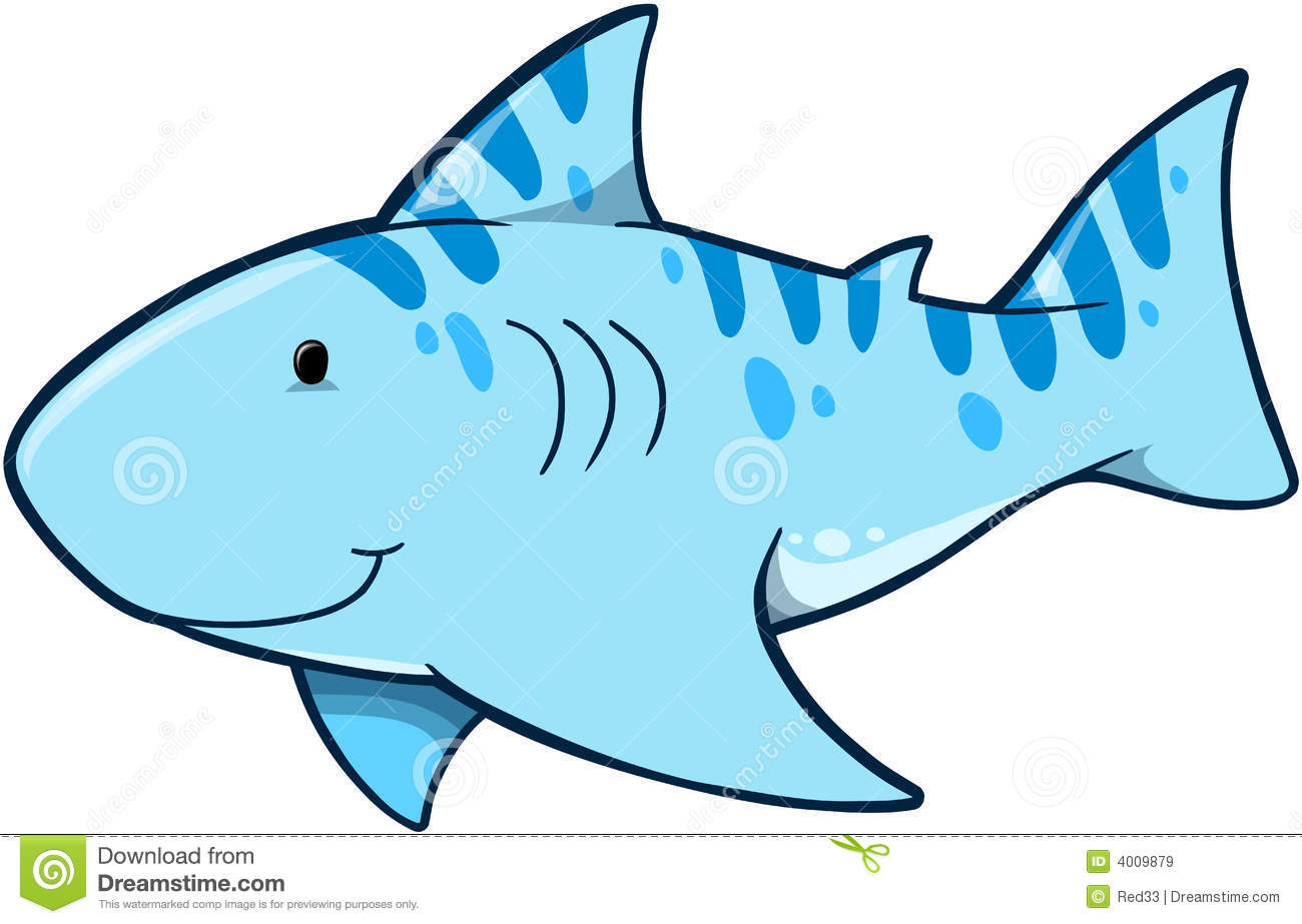 Shark Vector Illustration Royalty Free Stock Images - Image: 4009879