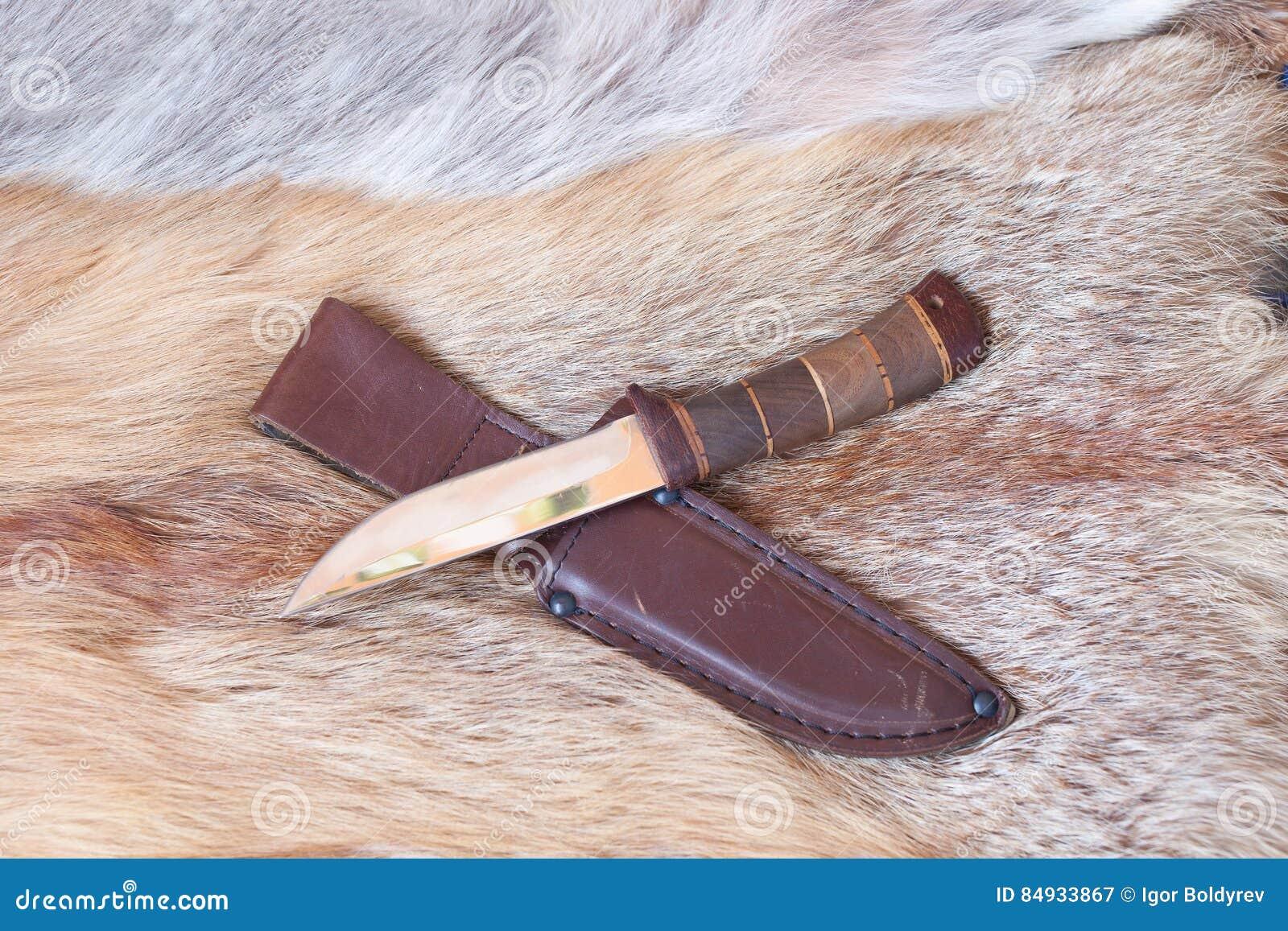 Sharp hunting knife