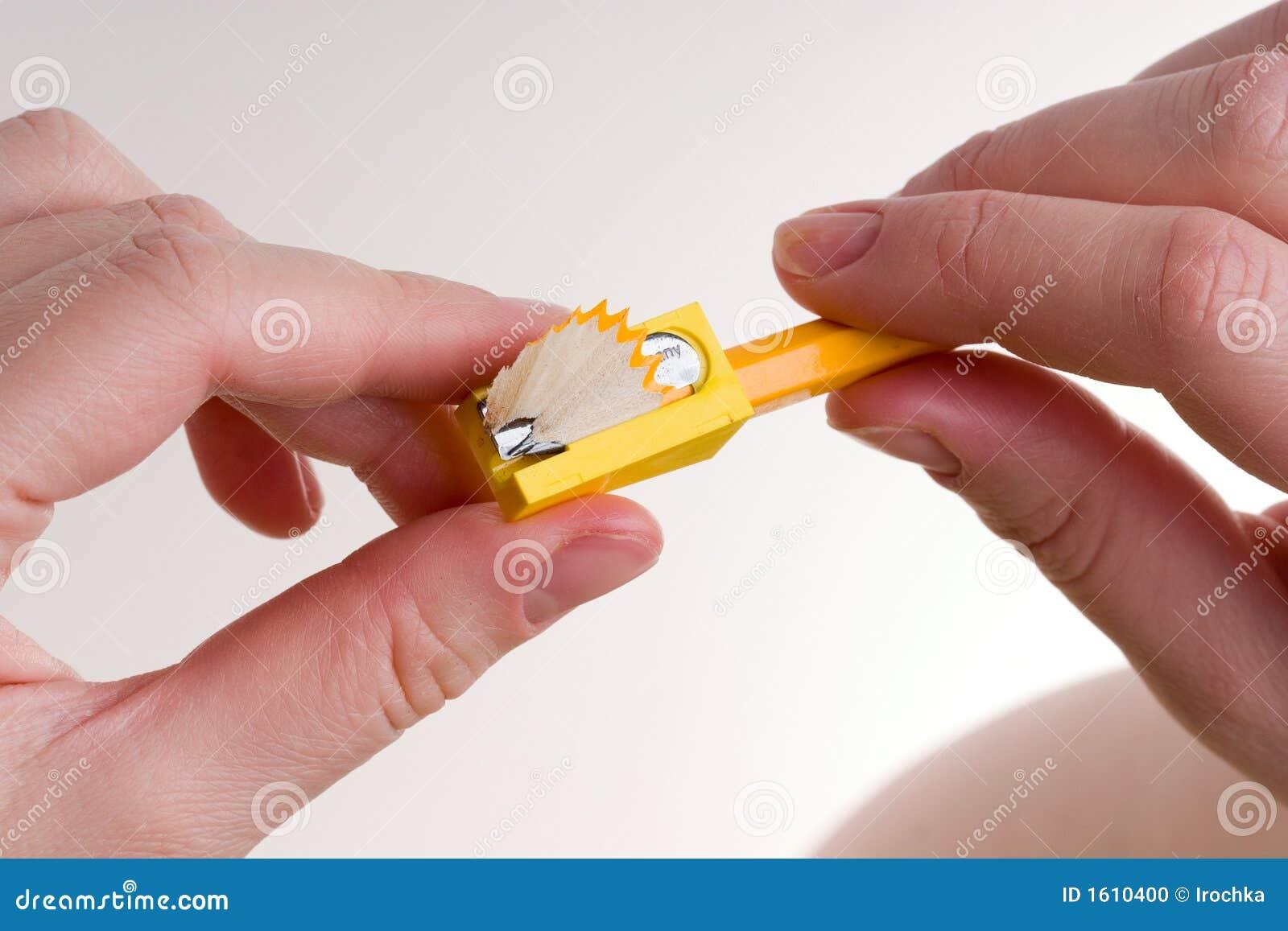 Sharpen um lápis