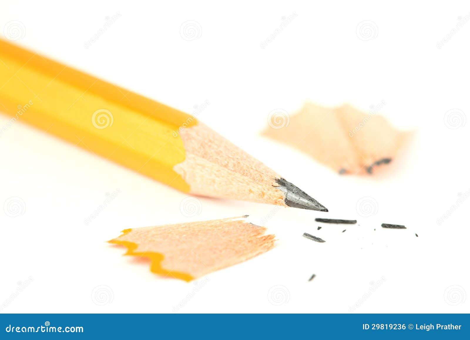 Close up Sharpened do lápis