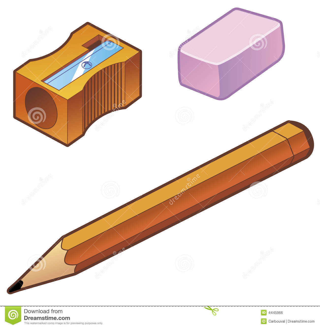 how to draw a sharpener