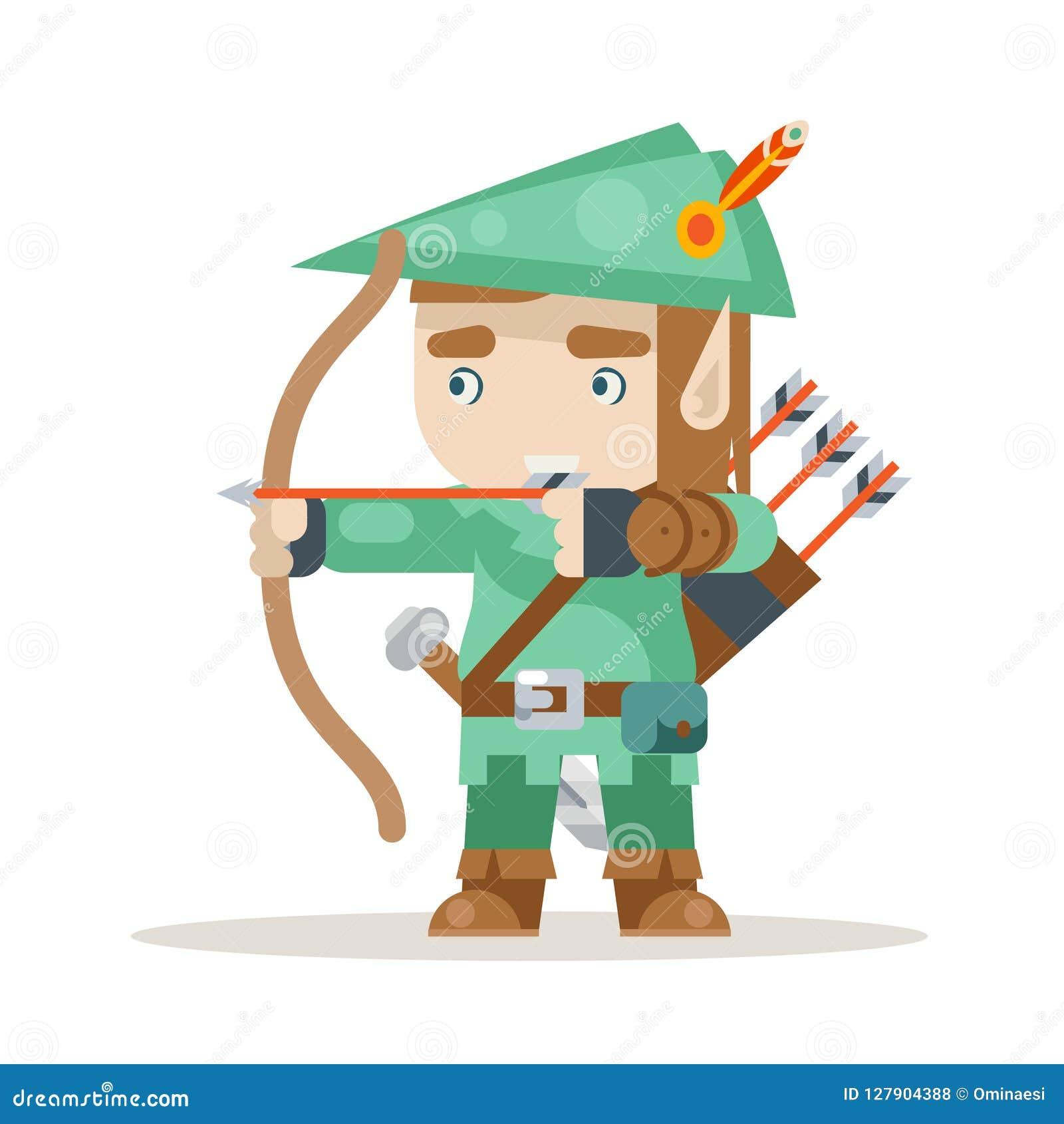 Sharpshooter Archer Bow Arrow Elf Fantasy Medieval Action
