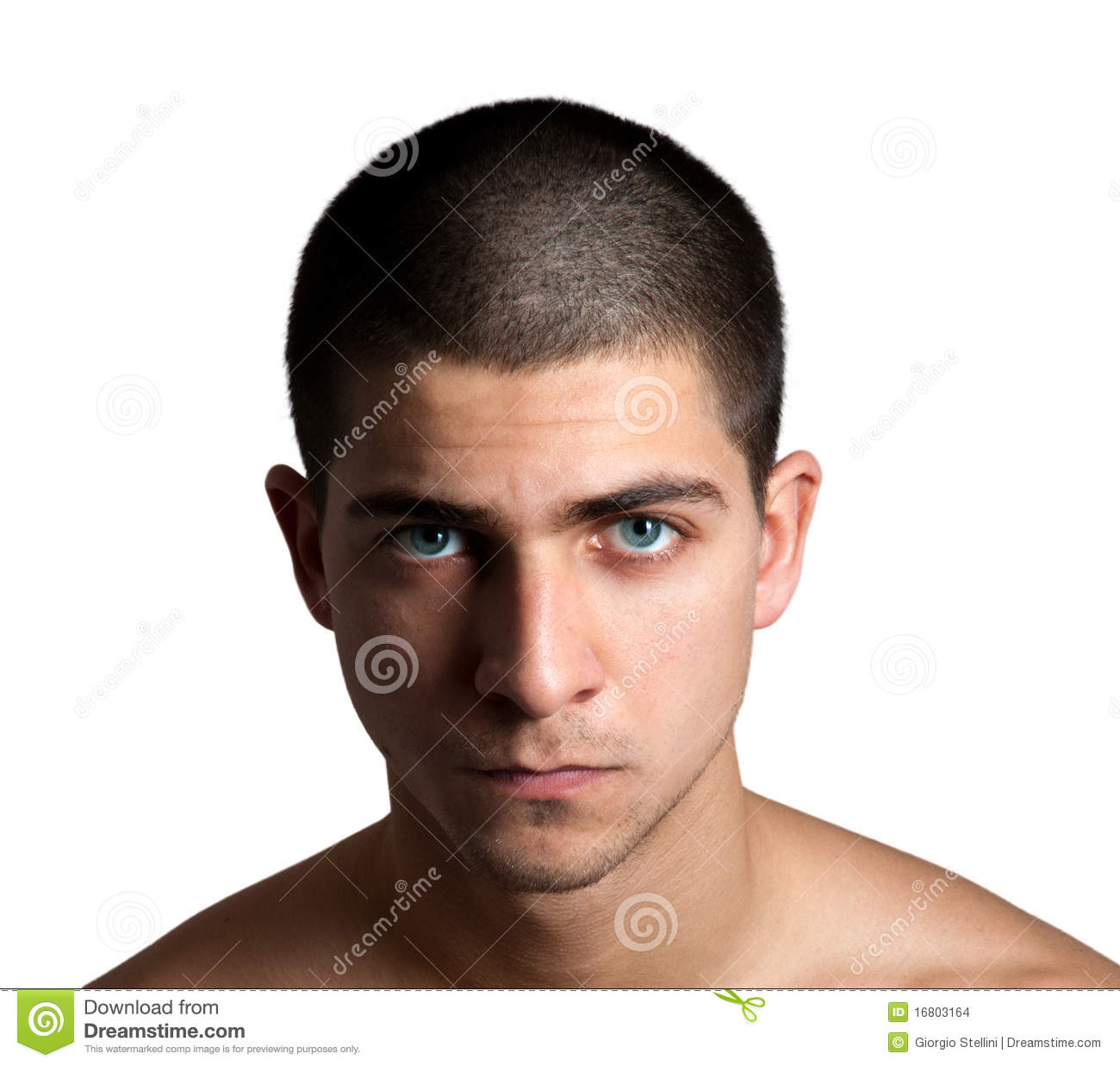 Shaved Head Stock Images Image 16803164