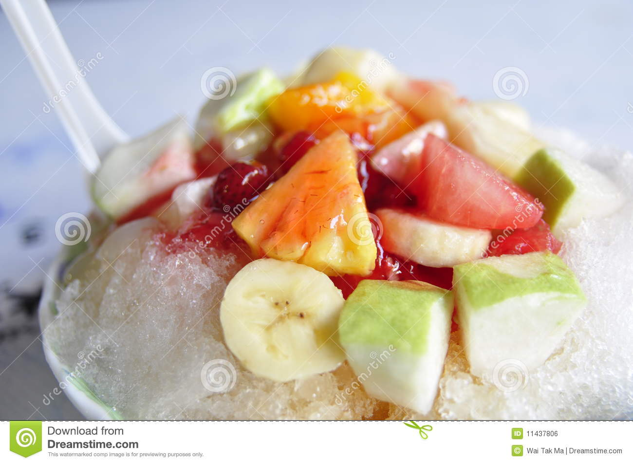 Taiwanese Shaved Ice With Fruits Recipes — Dishmaps