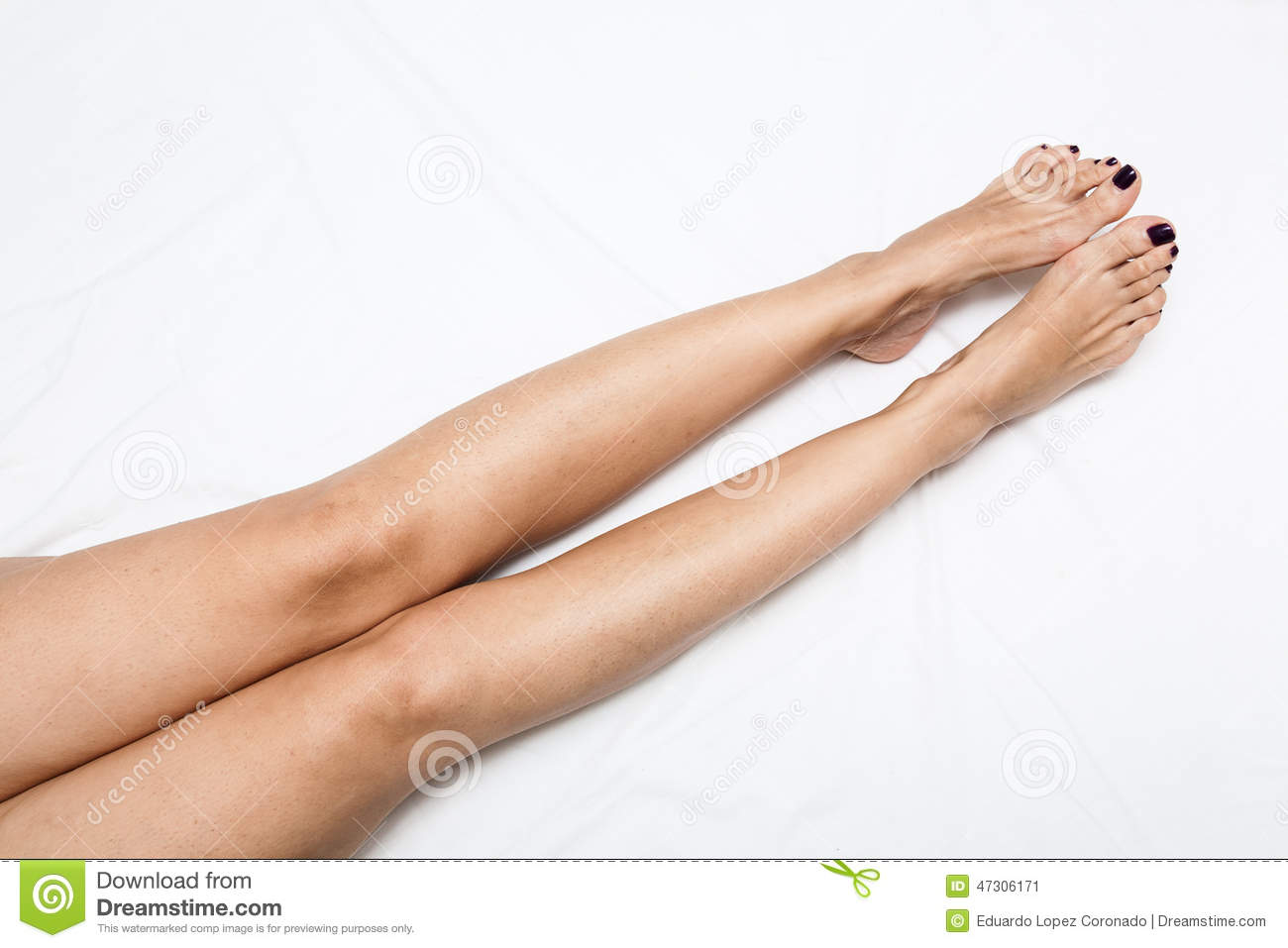 long legs shaved