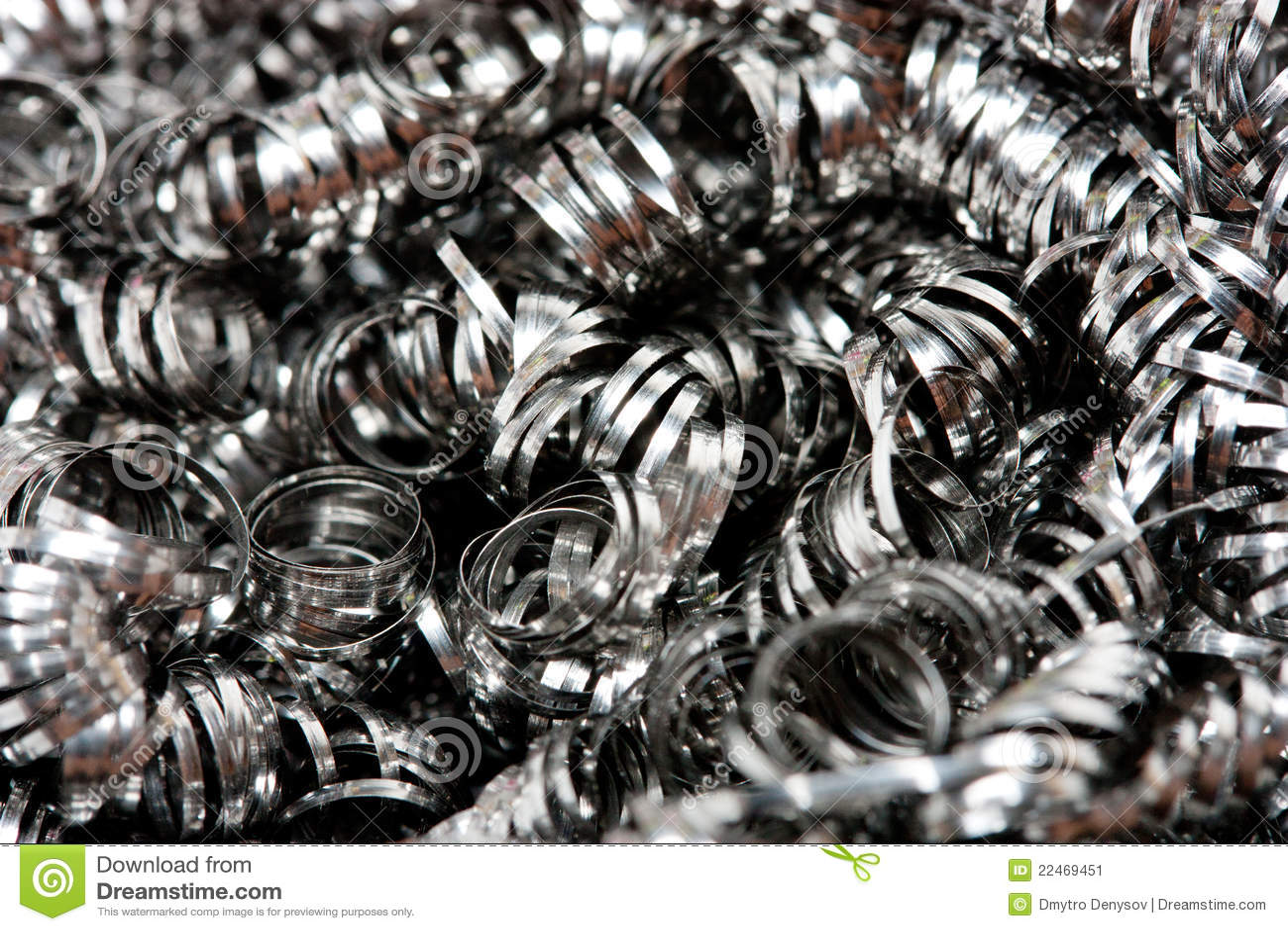 Shavings утиля металла