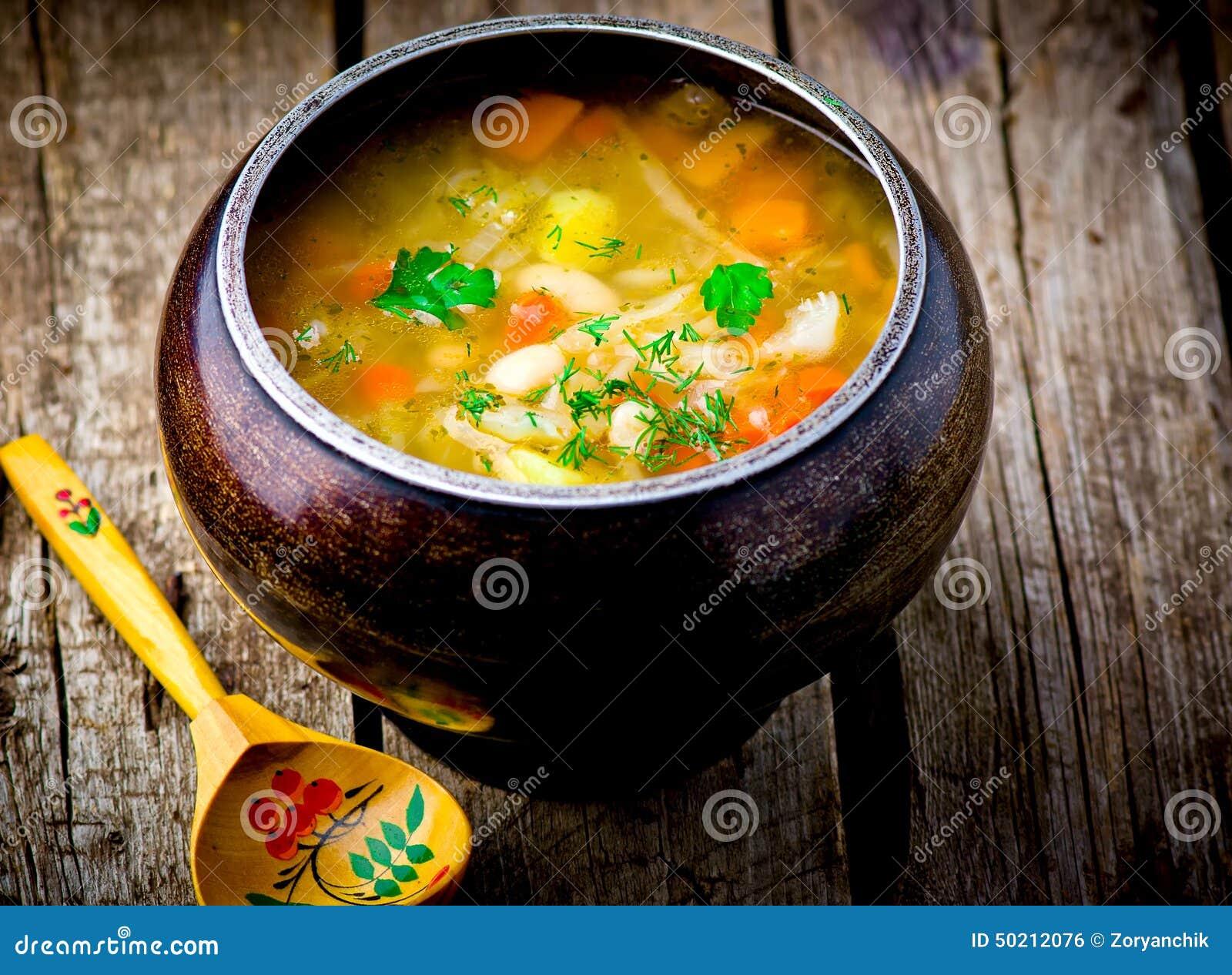 Крестьянский суп рецепт с пошаговым фото