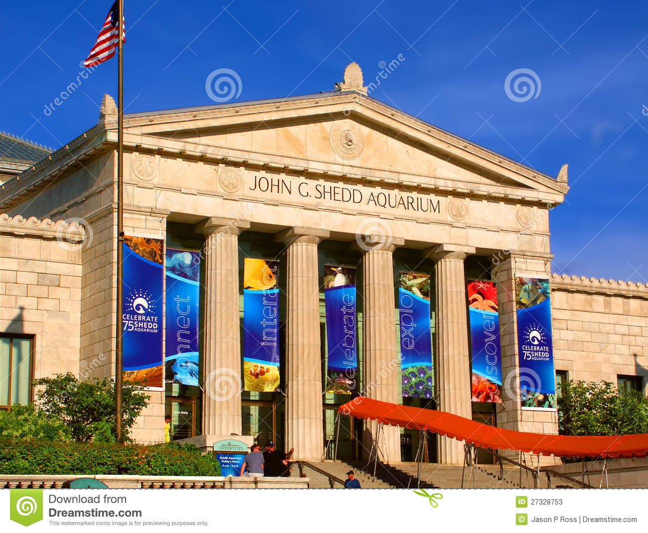 Shedd Aquarium Chicago Illinois Editorial Stock Photo