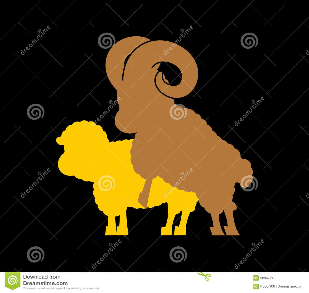 Sheep sex. Fasrm animal intercourse. Animals reproduction