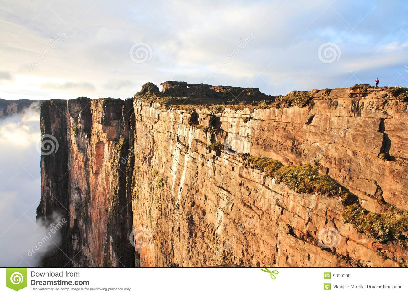 Sheer cliffs of Mount Roraima