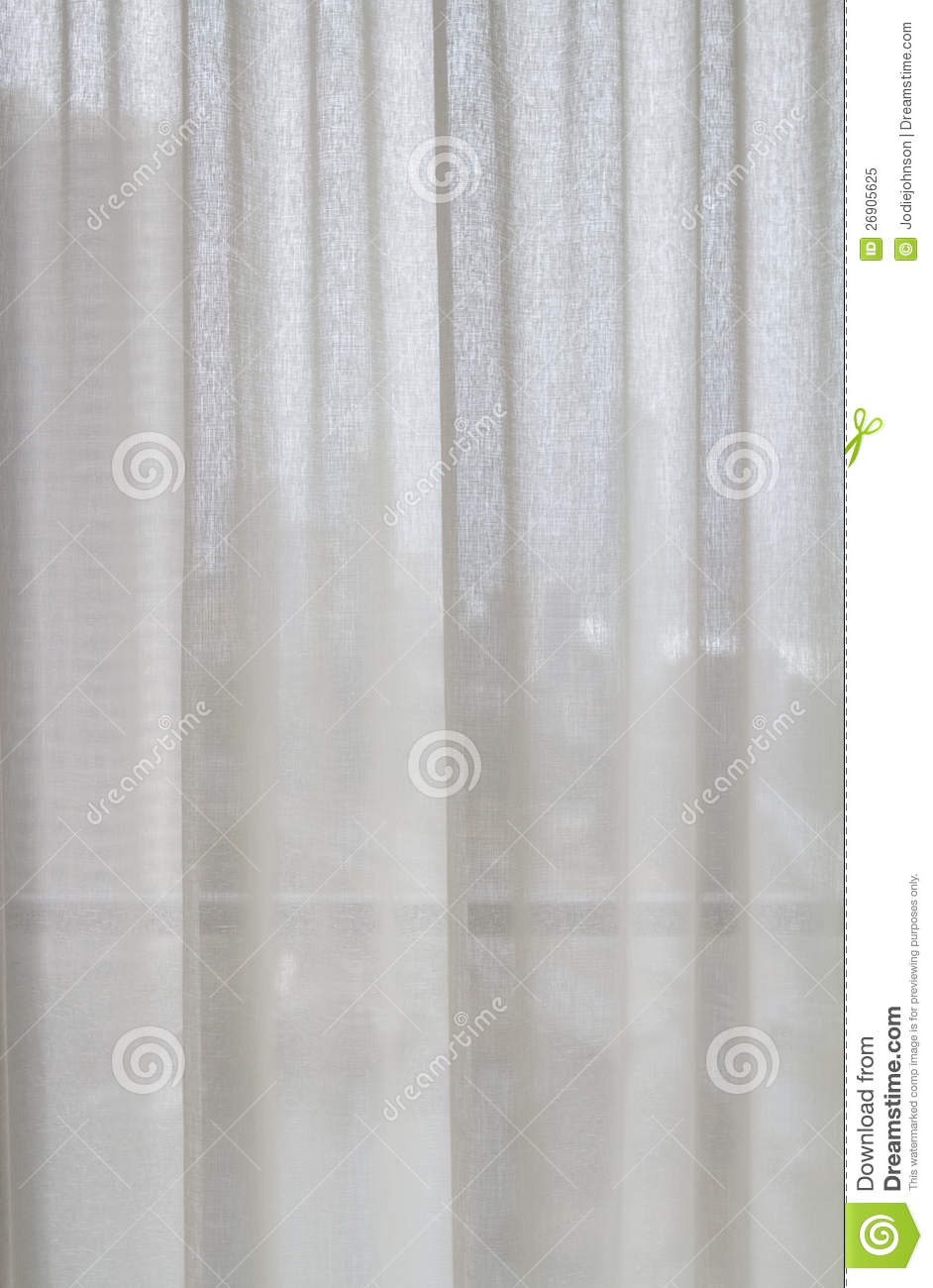 Sheer curtain texture - Royalty Free Stock Photo