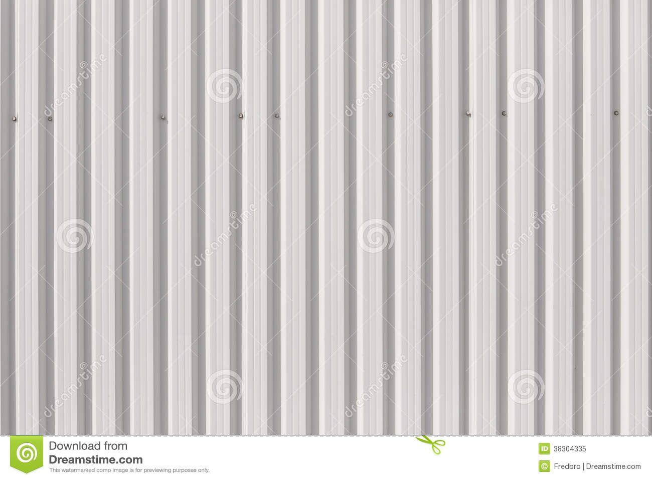 Sheet Cladding Texture Stock Image Image Of Building