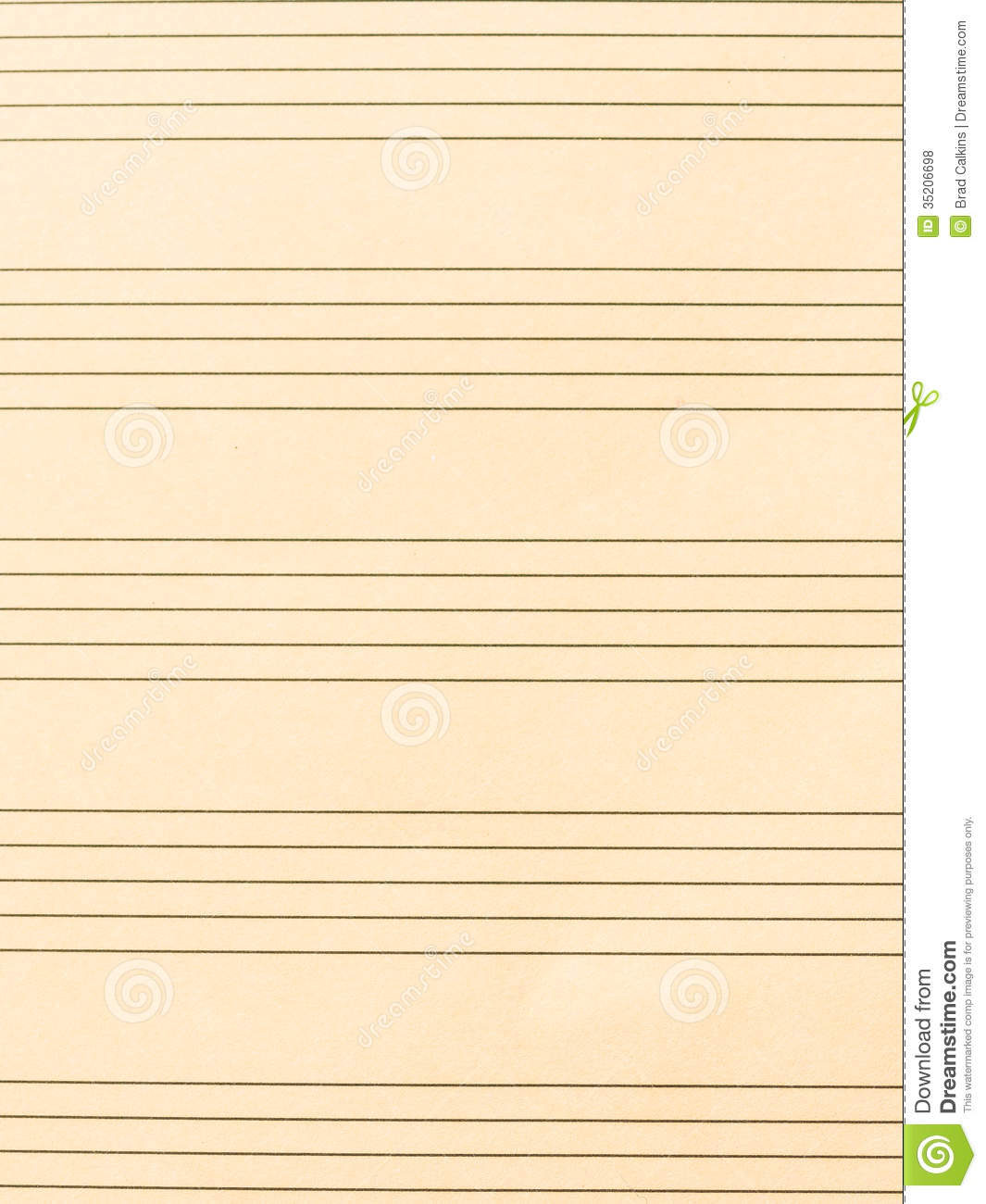 sheet of music stock photo  image of music  clef  lined