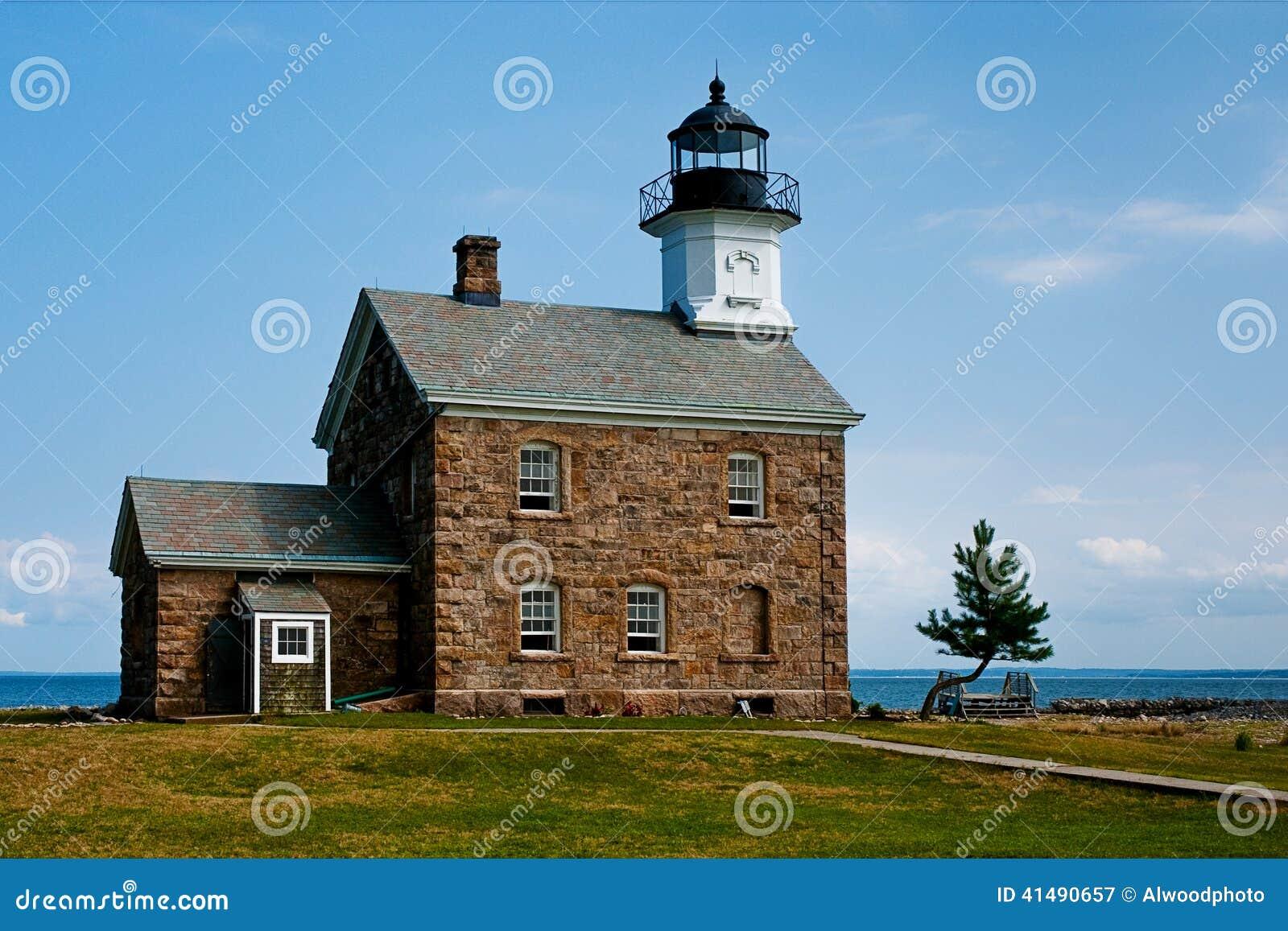 Sheffield Island Lighthouse em Norwalk, CT