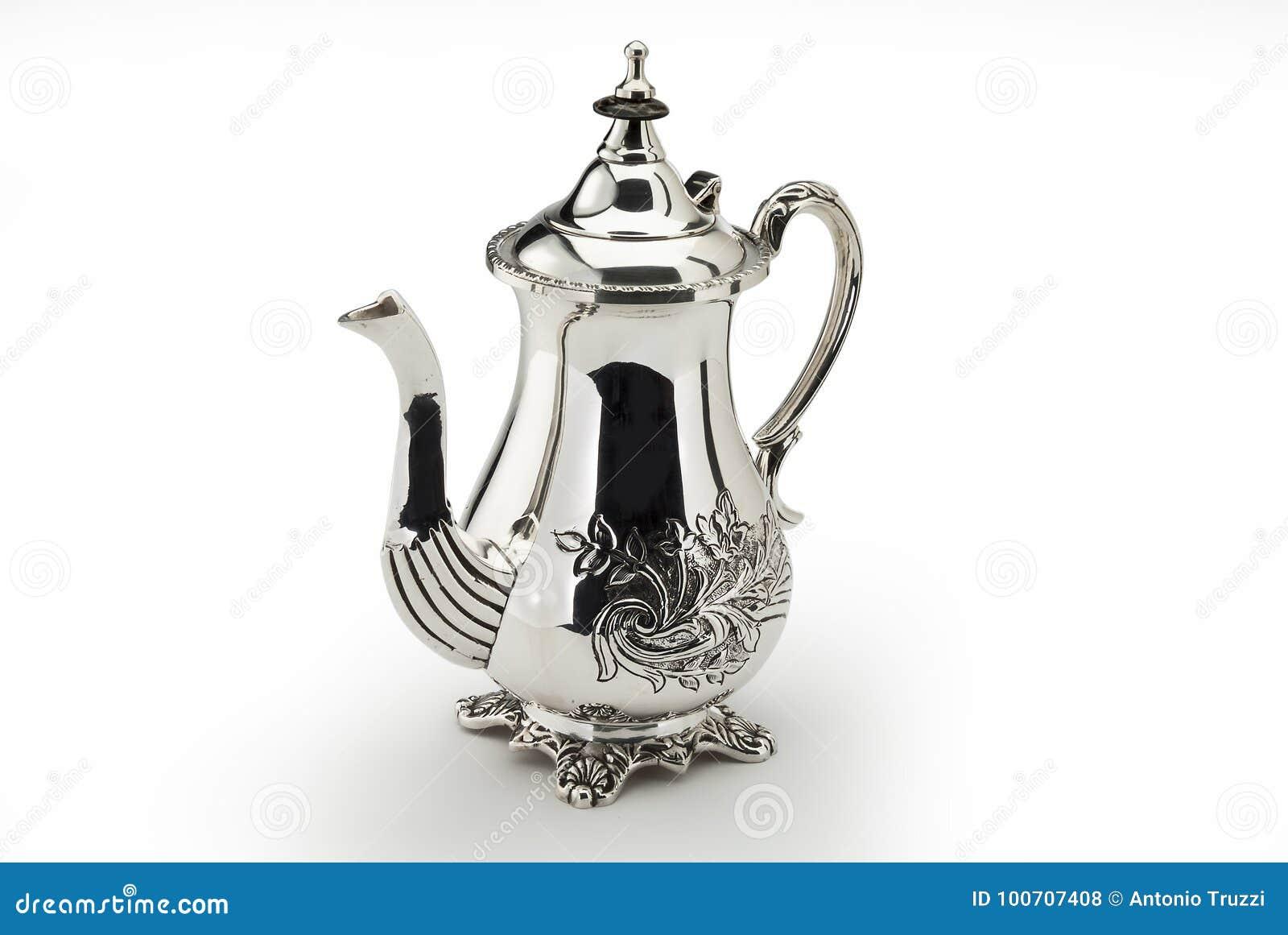 Sheffild ha cesellato la caffettiera