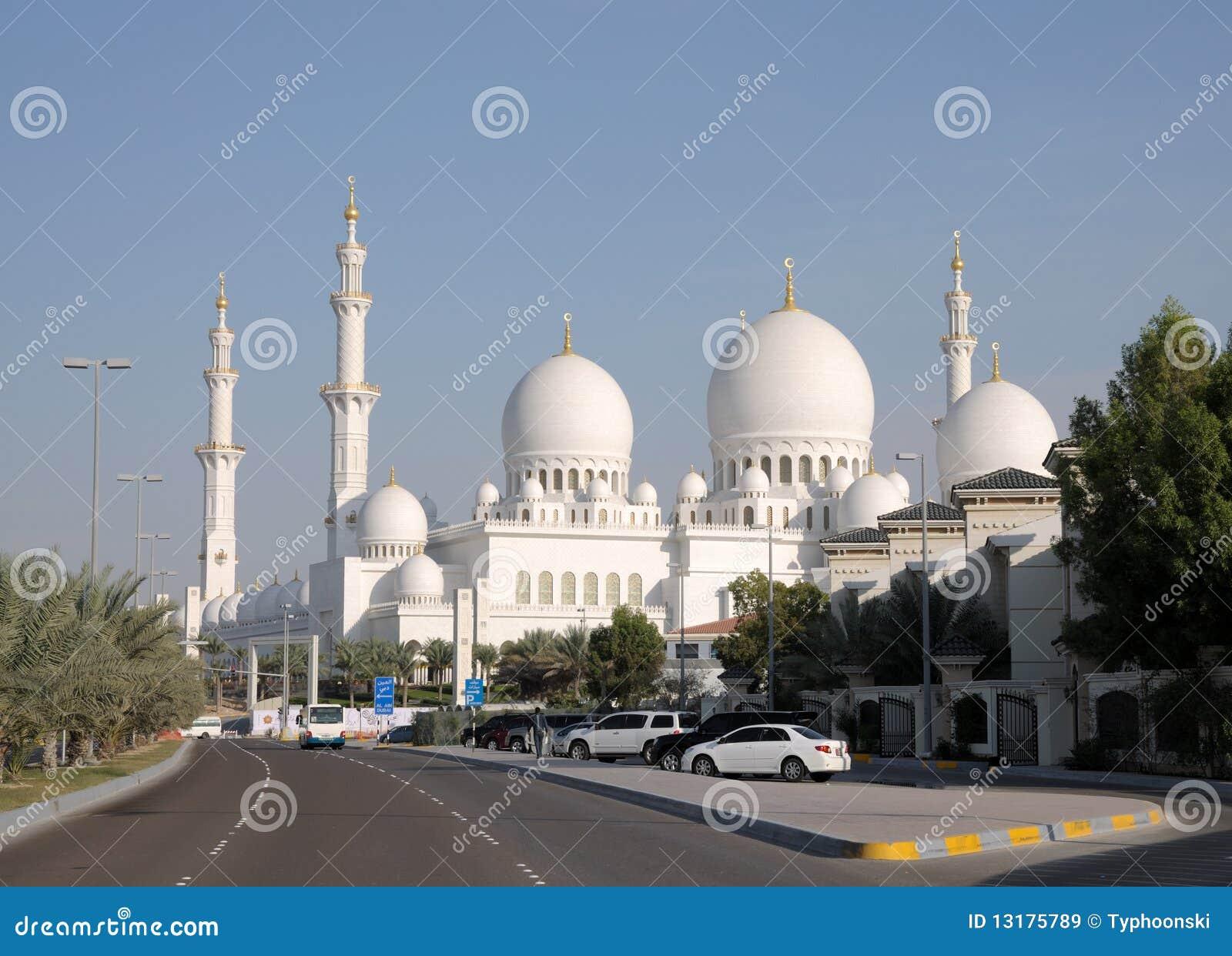 Sheikh μουσουλμανικών τεμενώ&n
