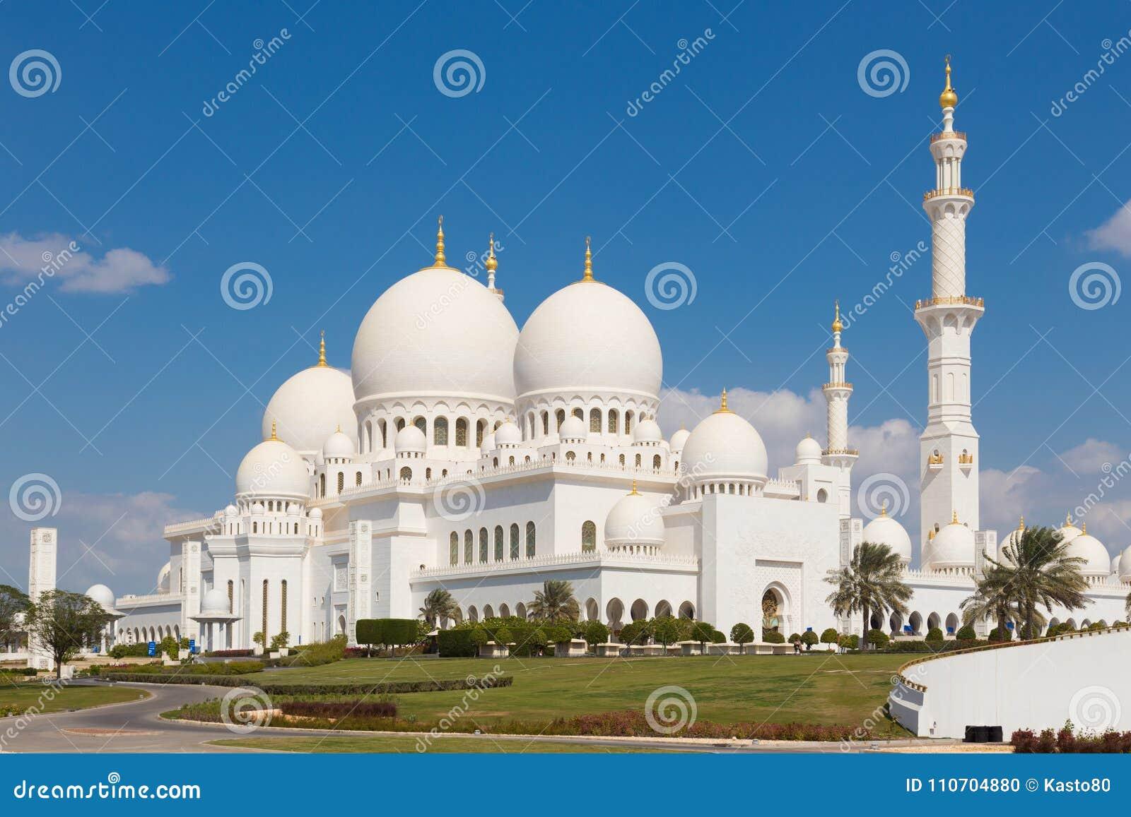 Sheikh Zayed Grand Mosque, Abu Dhabi, Emirats Arabes Unis