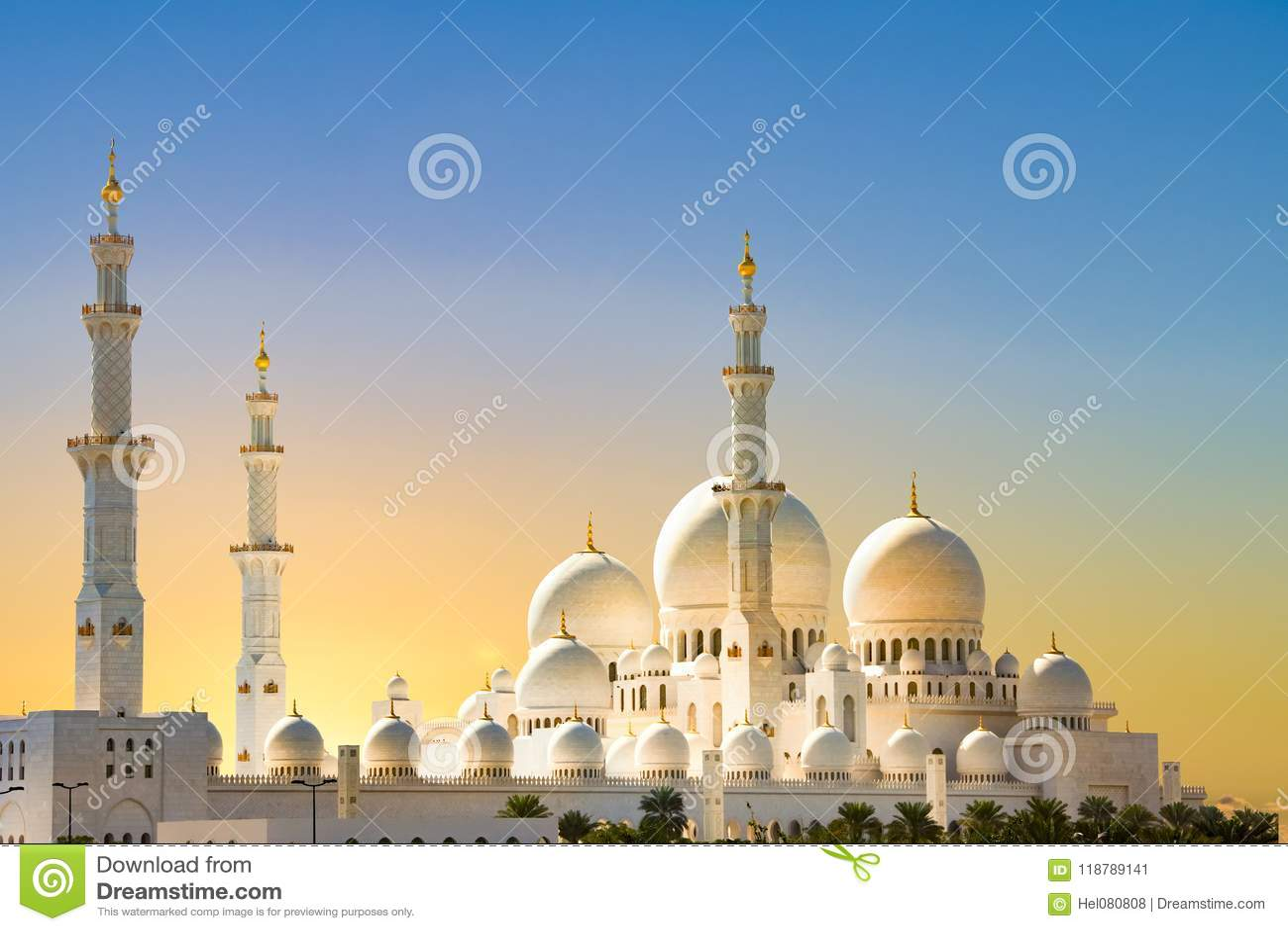 Sheikh Zayed Grand Mosque, Abu Dhabi, sunrise at grand mosque, Abu Dhabi
