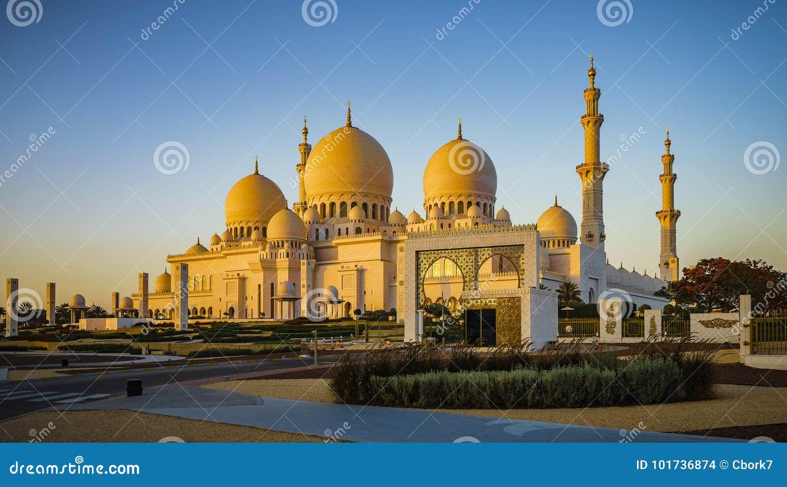 Sheikh Zayed Grand Mosque en Abu Dhabi 5