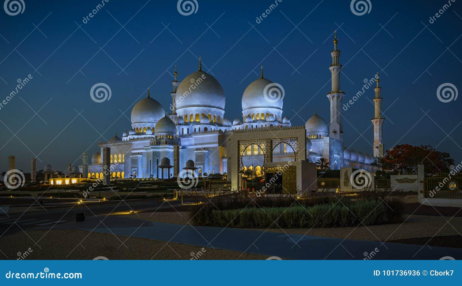 Sheikh Zayed Grand Mosque en Abu Dhabi 6