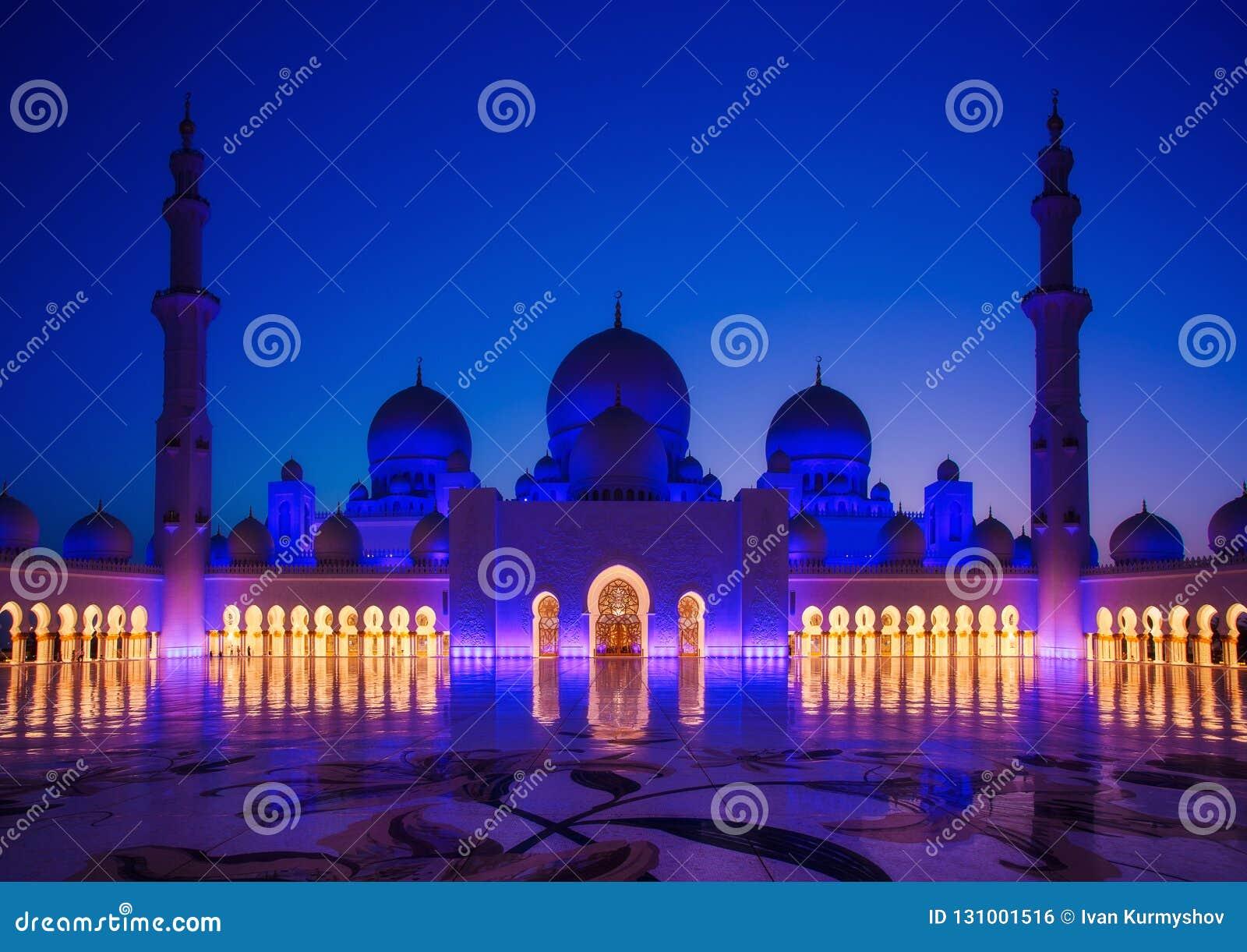 Sheikh Zayed Grand Mosque en Abu Dhabi