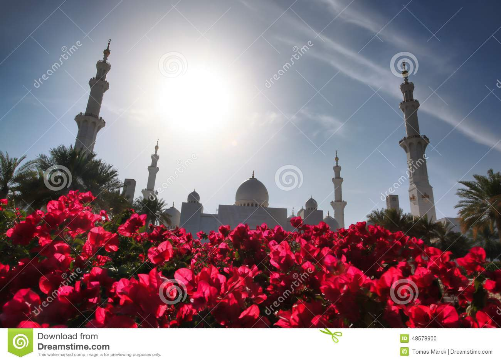 Sheikh Zayed meczet w Abu Dhabi, Zjednoczone Emiraty Arabskie, Środkowy Wschód