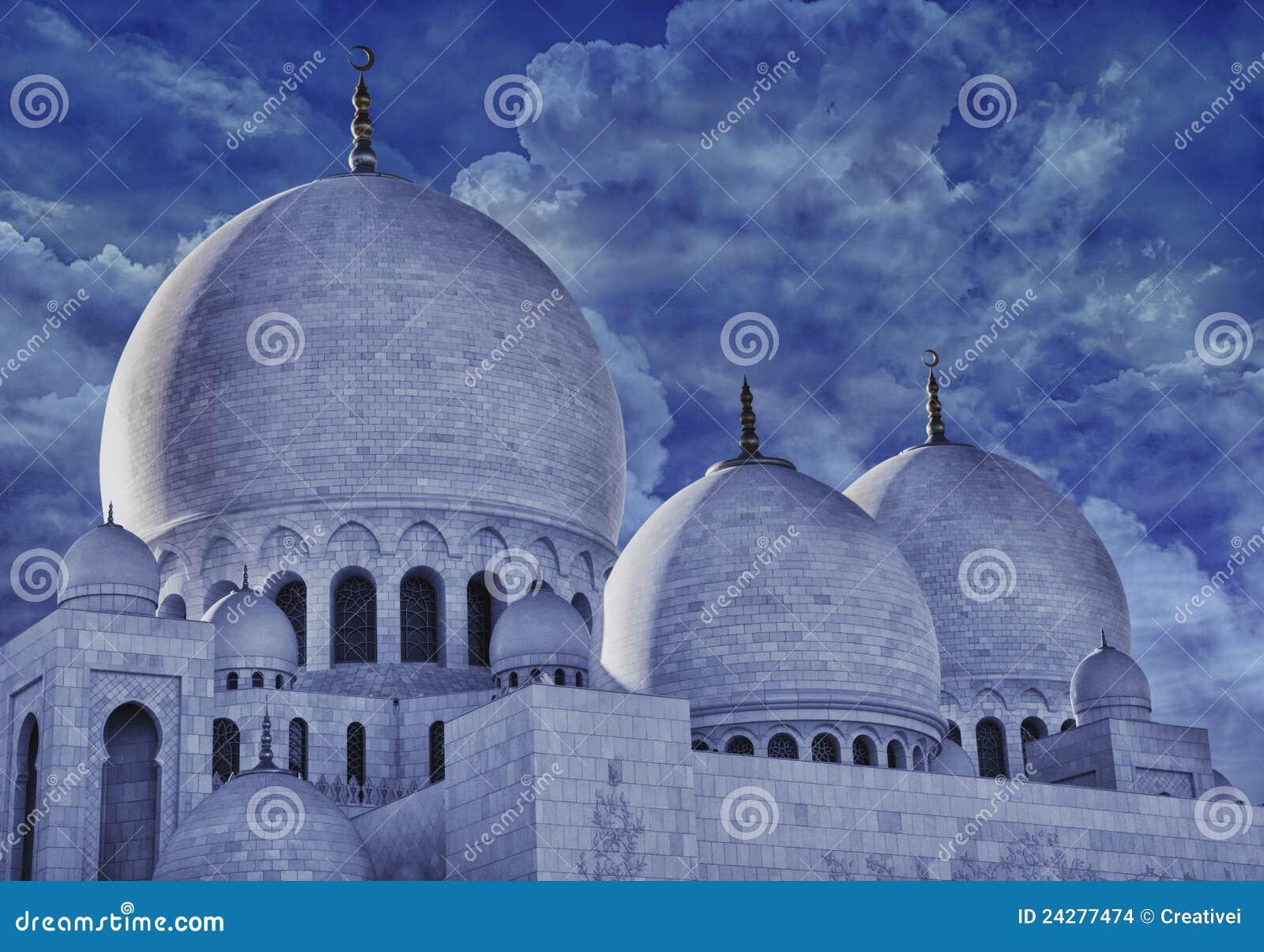 Exterior: Sheikh Zayed Moqsue Stock Photo. Image Of Islamic, Asia