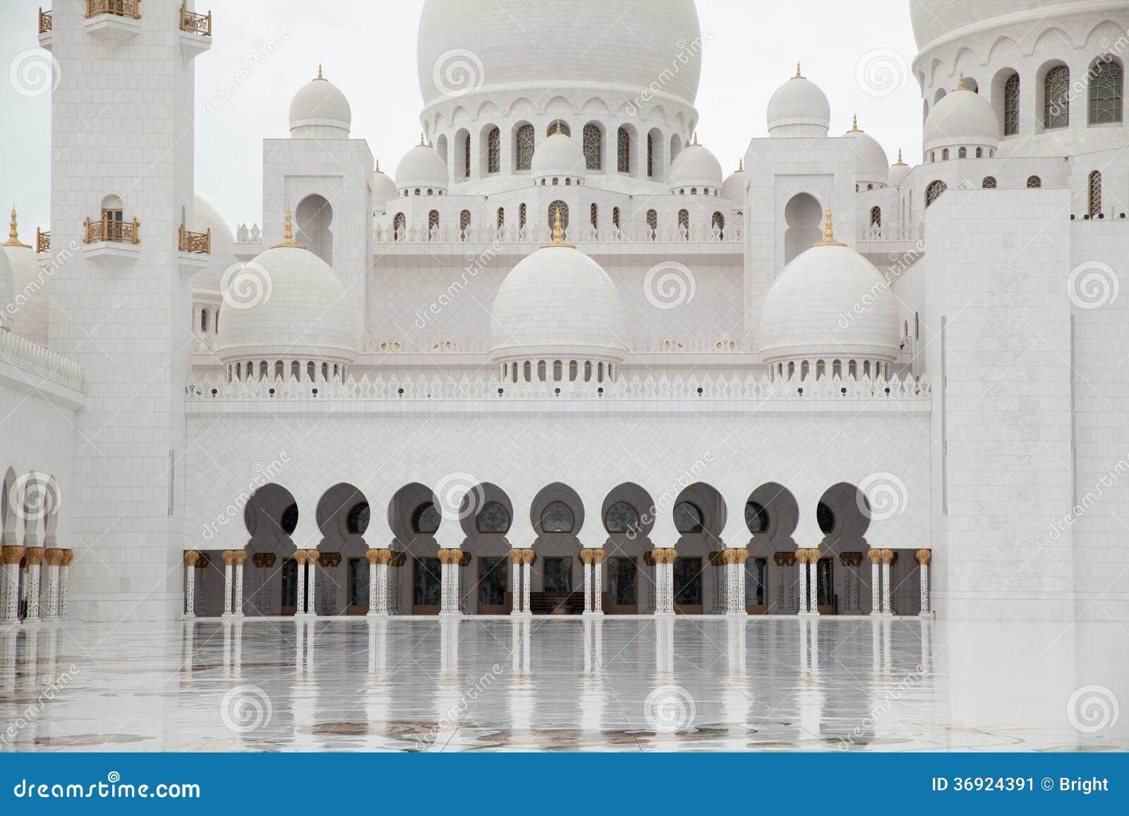 Sheikh Zayed Uroczysty meczet