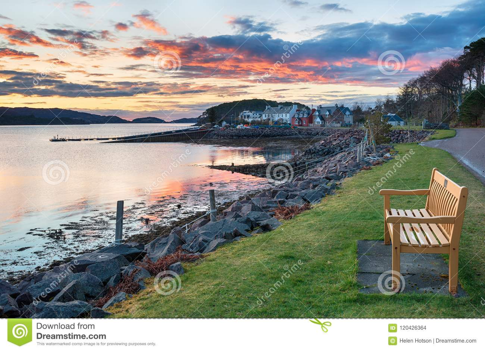 Sheildaig in Schotland