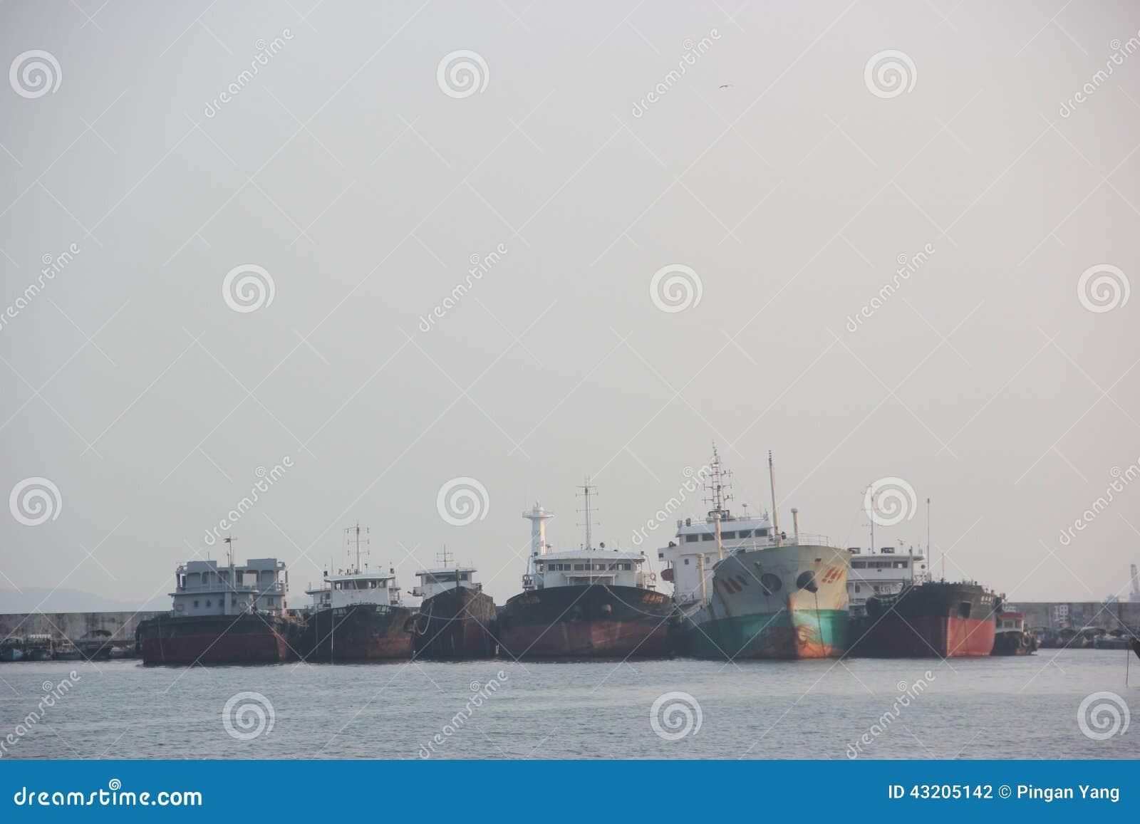 Download Shekou Fiskeport I SHENZHEN KINA AISA Redaktionell Arkivbild - Bild av hamn, porslin: 43205142