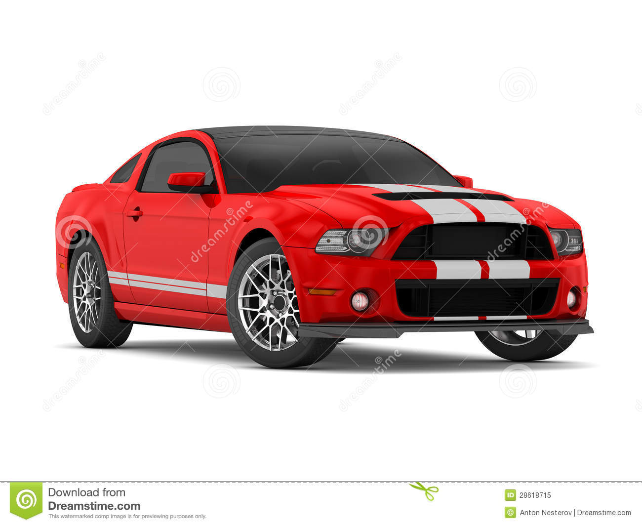 Shelby Super Sport Car